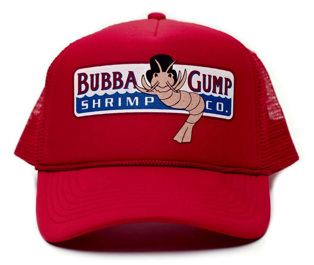 RETRO TRUCKER CAP  BUBBA GUMP SHRIMP CO.  MOVIE FORREST GUMP 80´S ... 12787d05d076