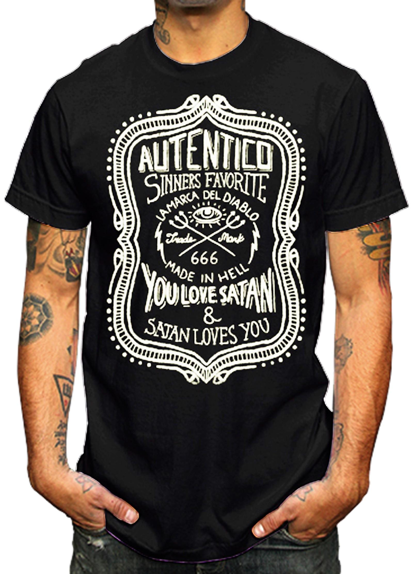 La Marca Del Diablo - Autentico T-Shirt Front