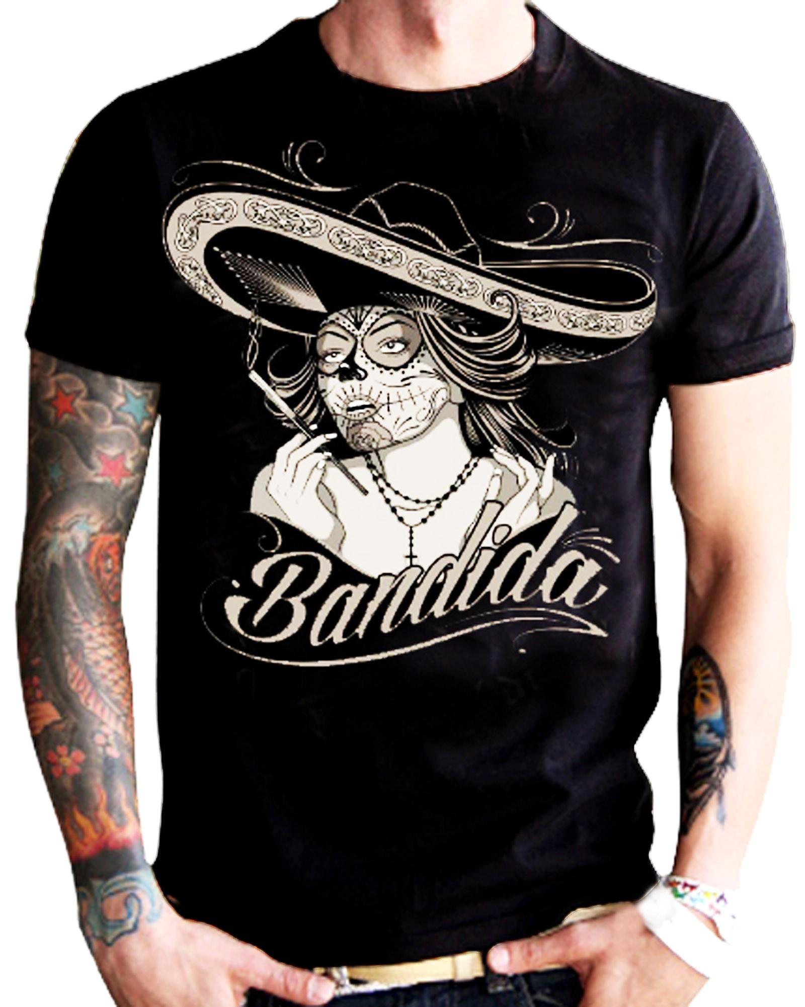 La Marca Del Diablo - La Bandida T-Shirt Front