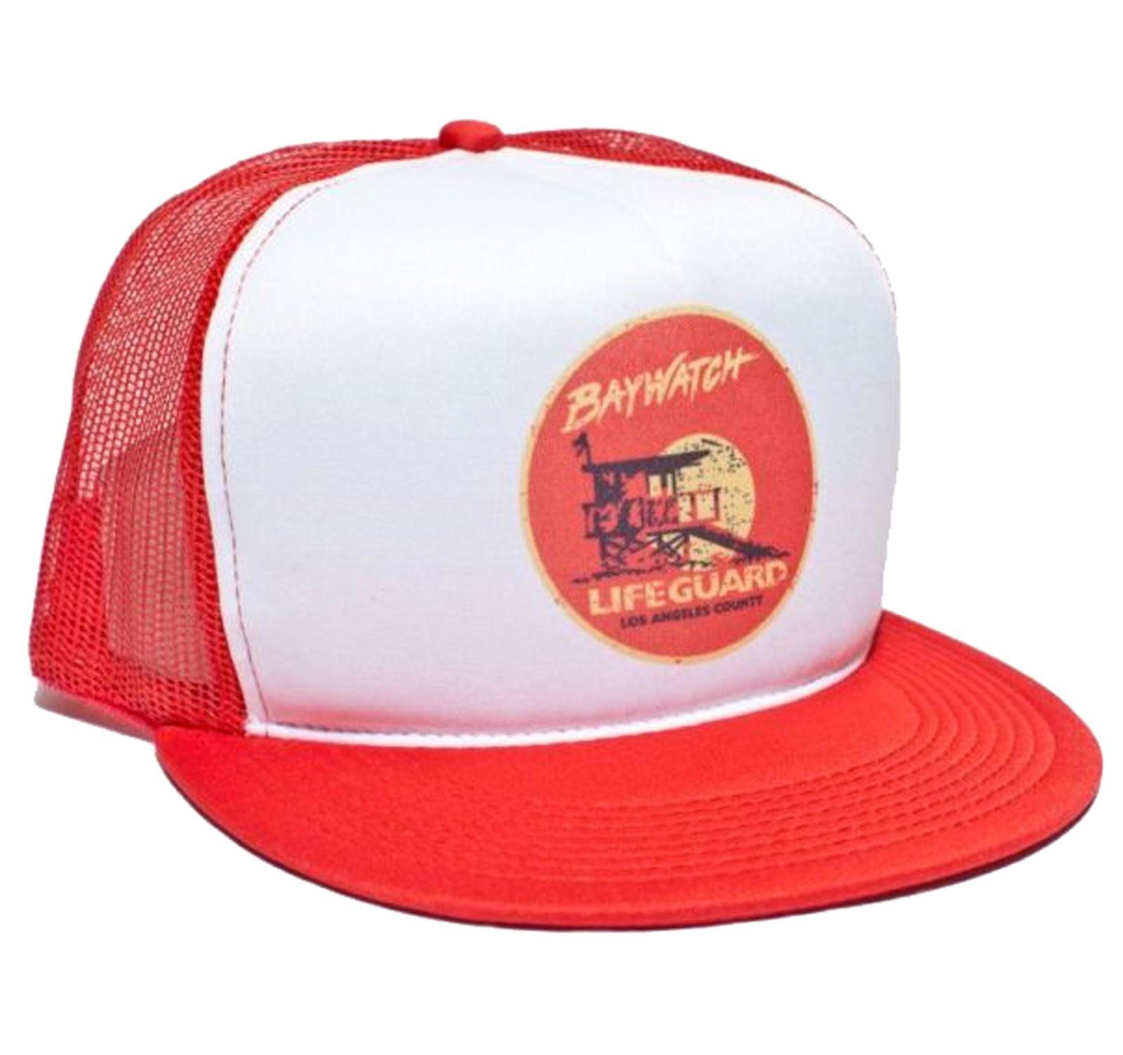 Retro Cap - Baywatch Movie Cap Front