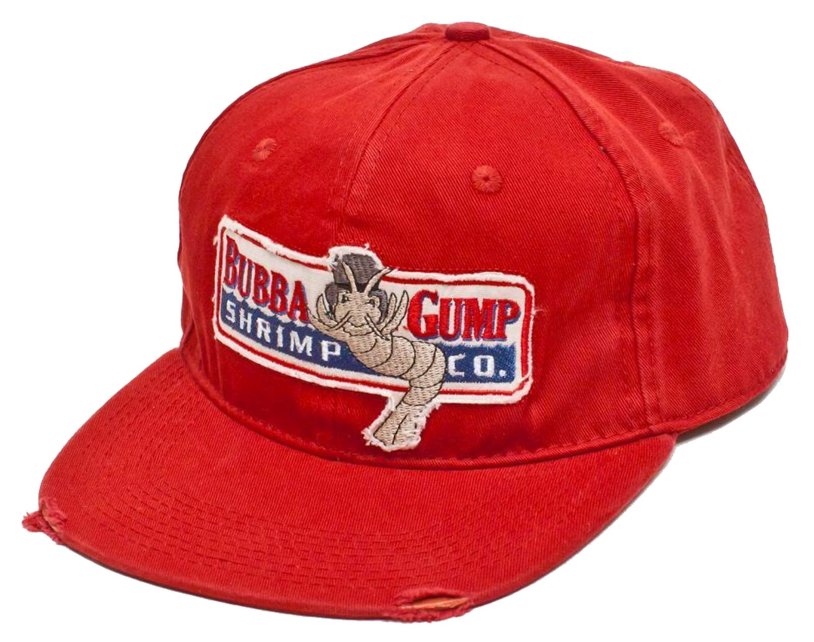 Retro Cap -  Bubba Gump Shrimp Co. Distressed Movie Cap Front