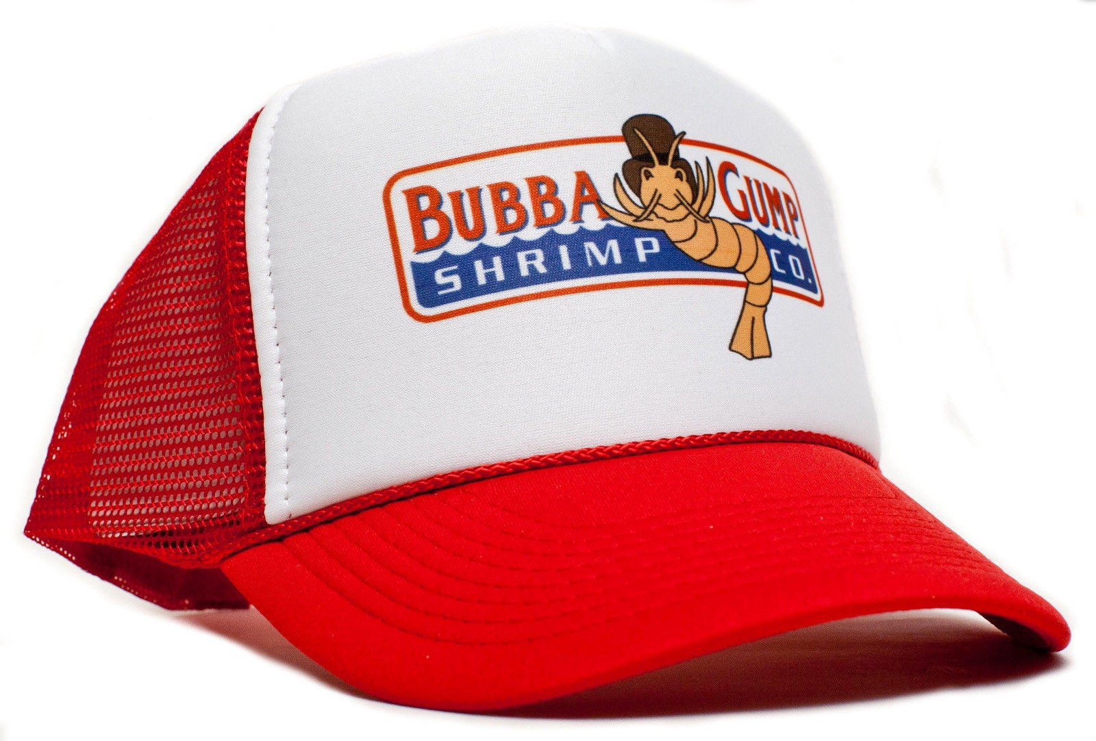Retro Cap -  Bubba Gump Shrimp Co. Curved Snapback Cap