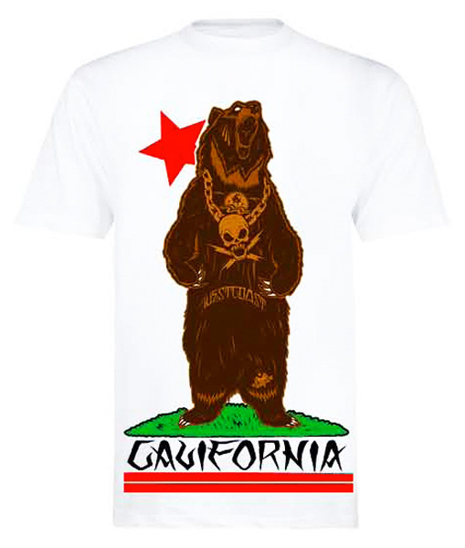 Fatal Clothing - Cali Bear T-Shirt Front