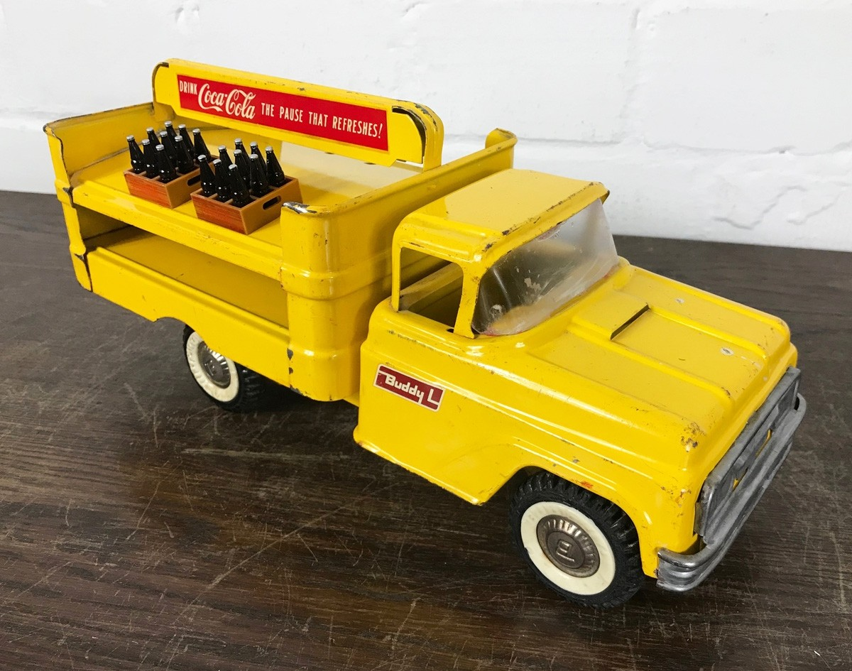 Original USA Toy - Coca Cola Delivery Truck