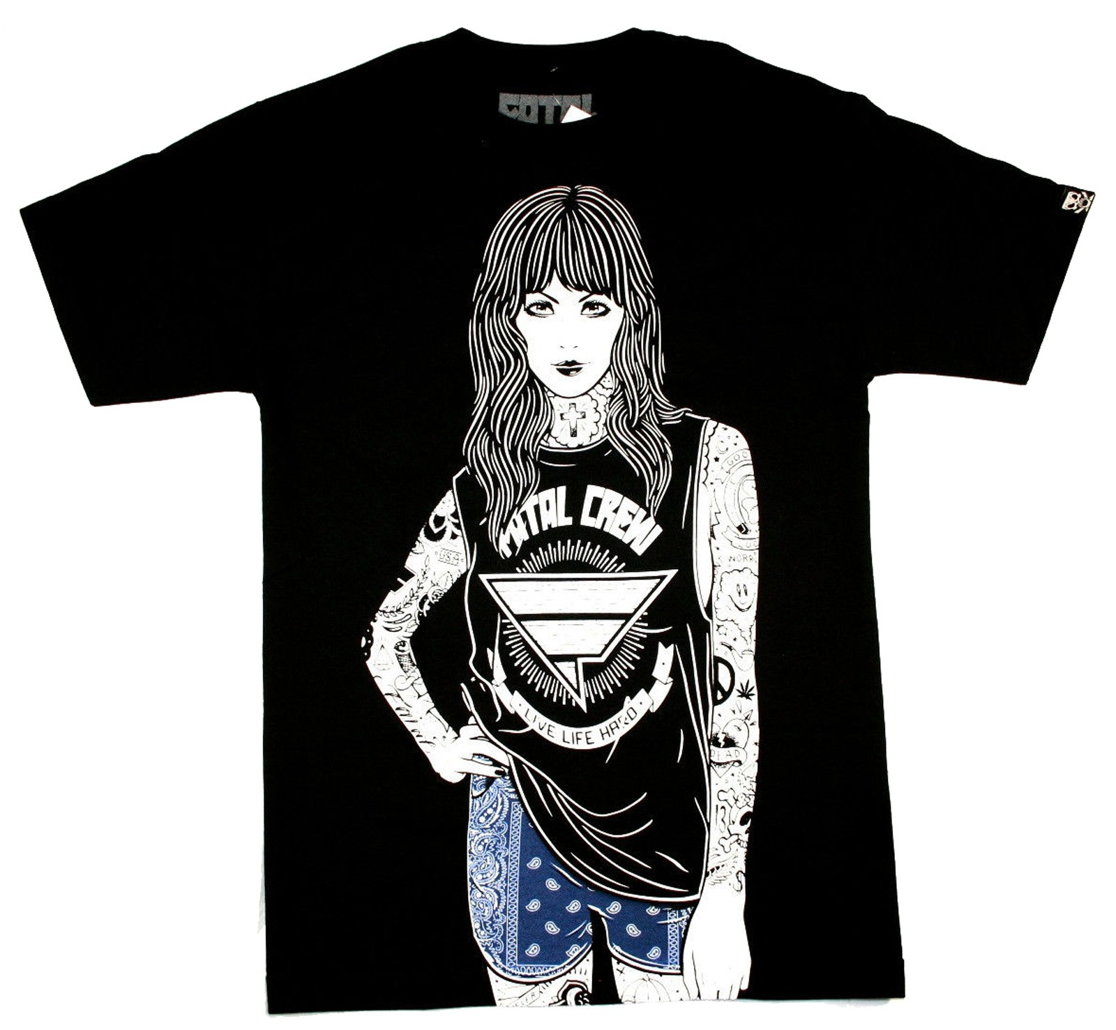Fatal Clothing - Darla T-Shirt Front