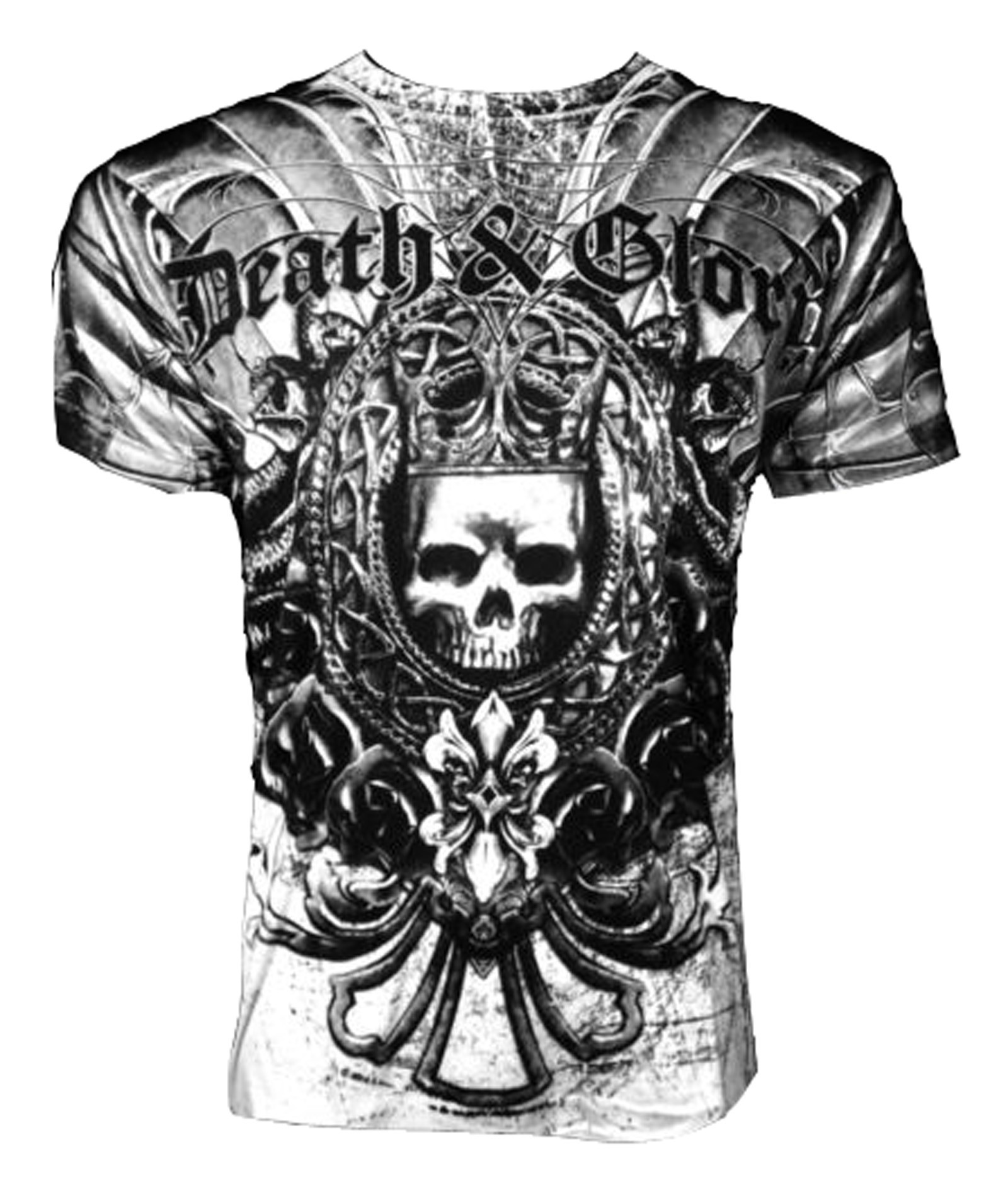 Xzavier - Death Glory T-Shirt Front