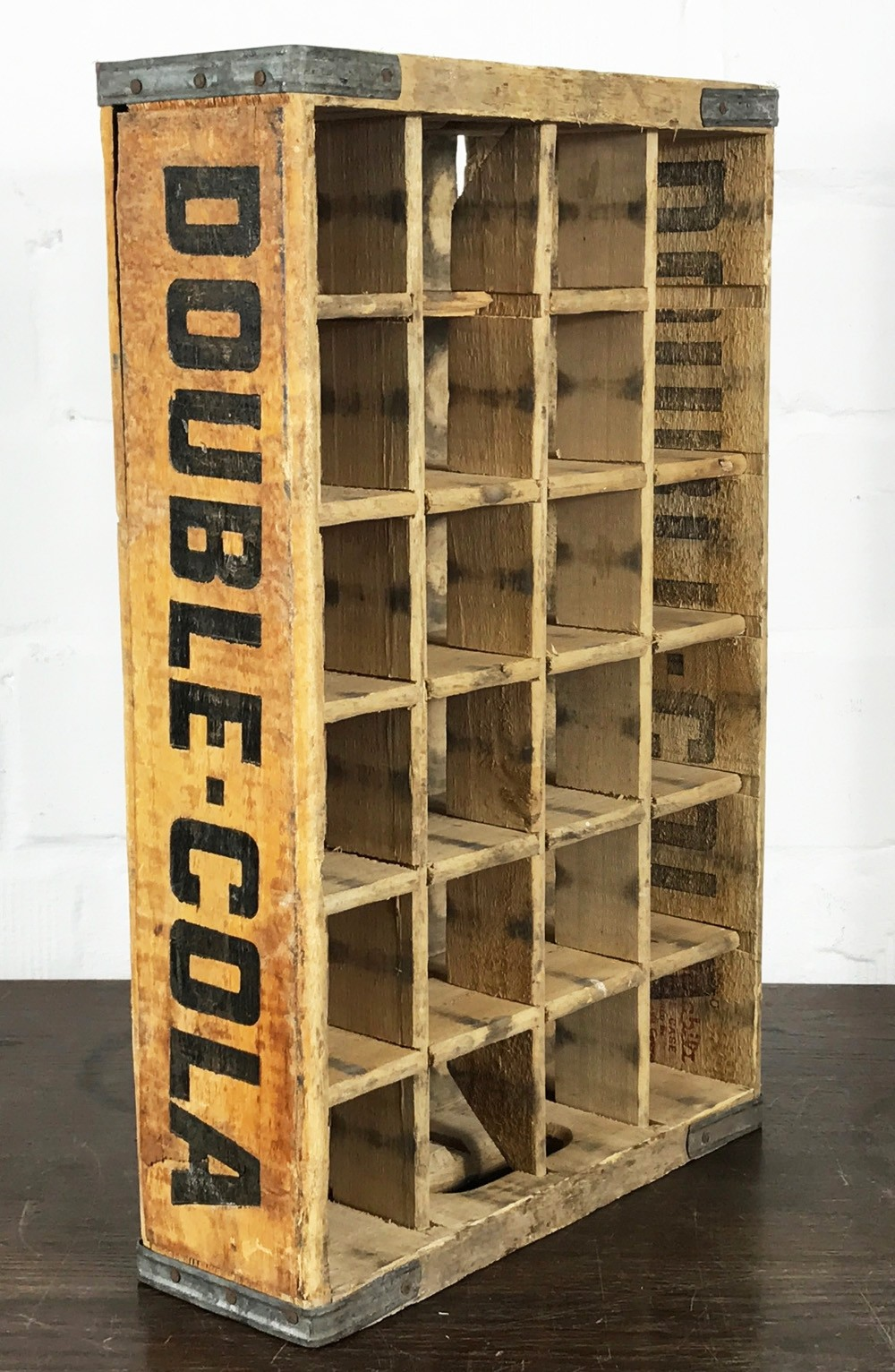 Original Soda Crate Double Cola 24er Getränkekiste Califas La