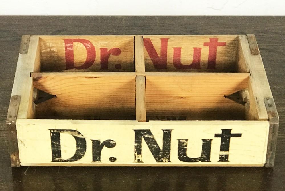 Original Soda Crate - Dr. Nut Getränkekiste