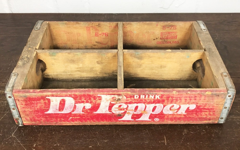 Original Soda Crate - Dr Pepper Getränkekiste