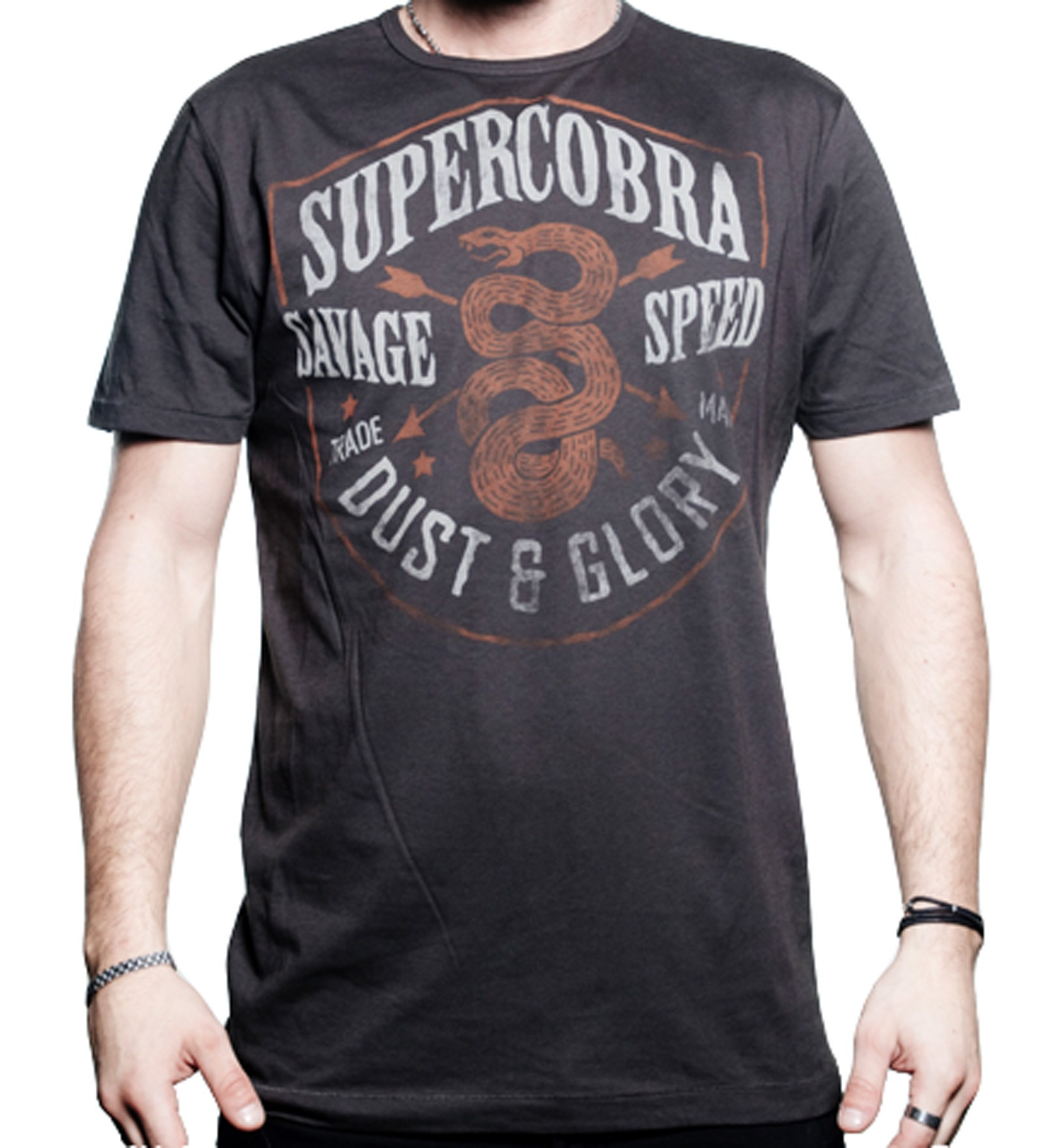 Supercobra Clothing Company - Dust & Glory T-Shirt Front