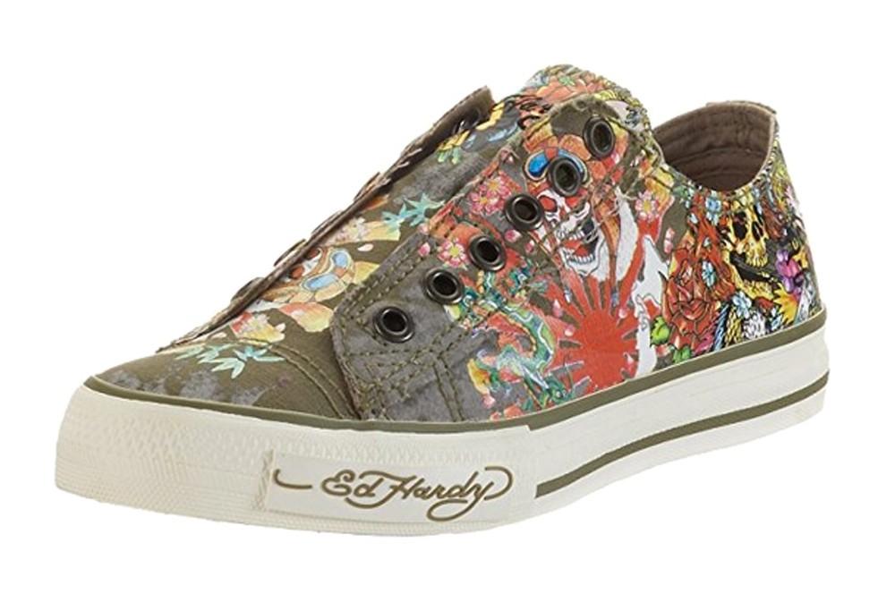 Ed Hardy - Tiedye Lowrise Sneakers