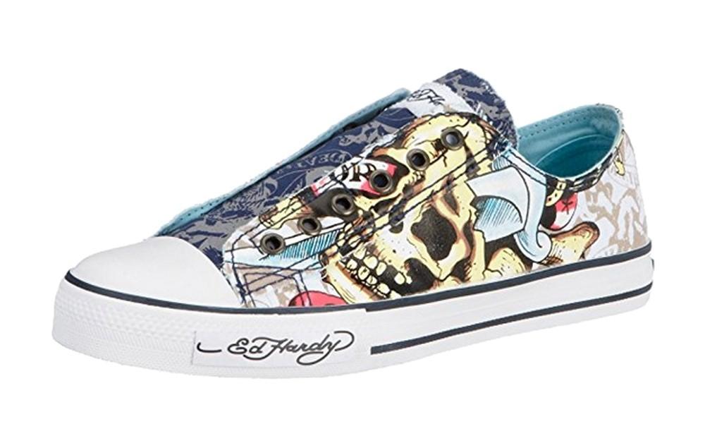 Ed Hardy - Lowrise Stencil Sneakers