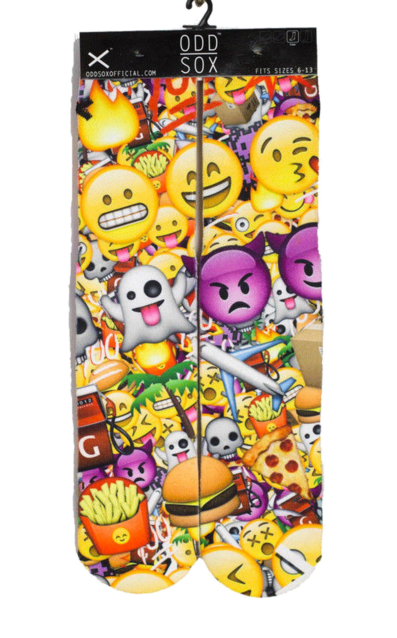 ODD Sox - Emoji Socken Front