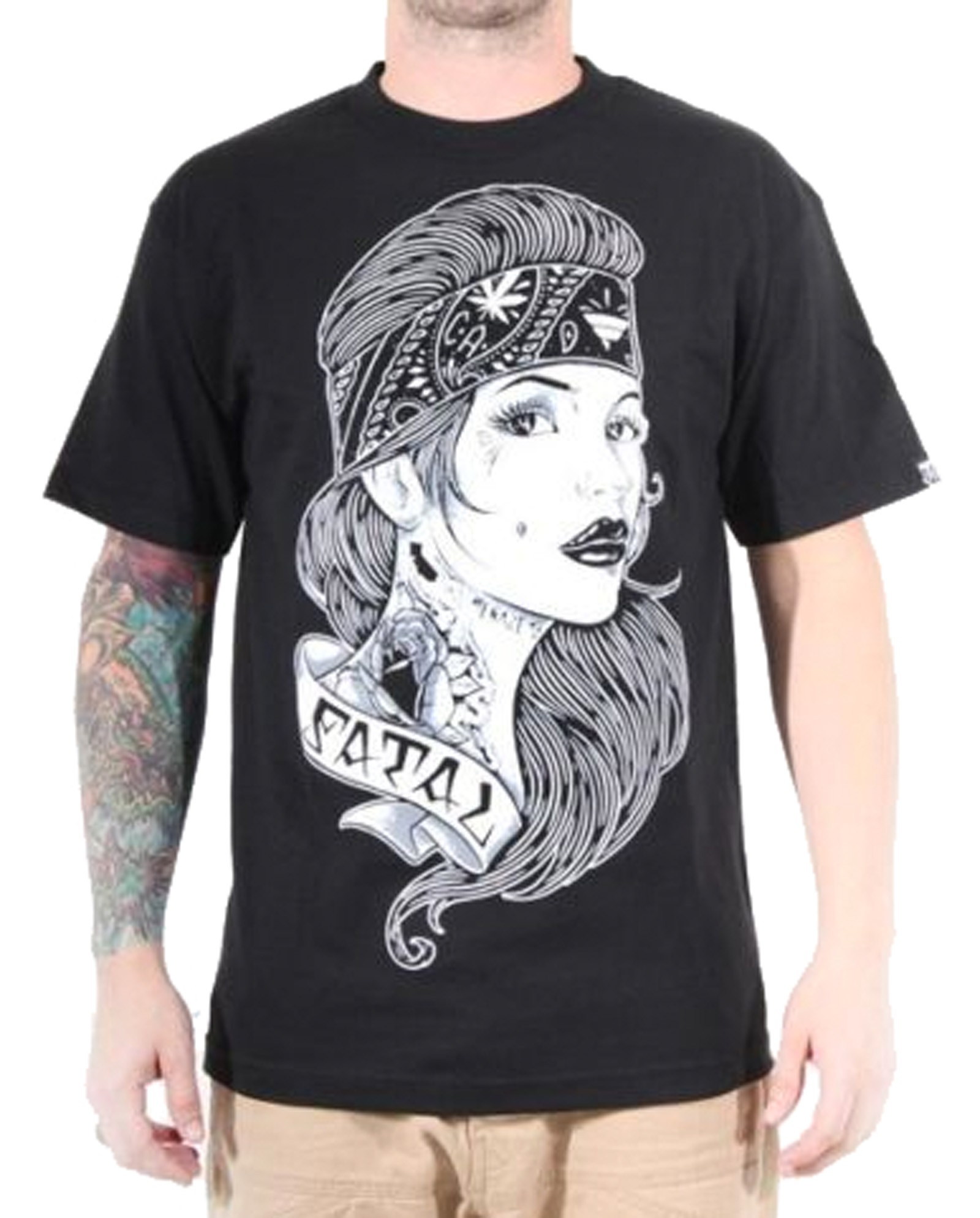 Fatal Clothing - Snappy T-Shirt Front