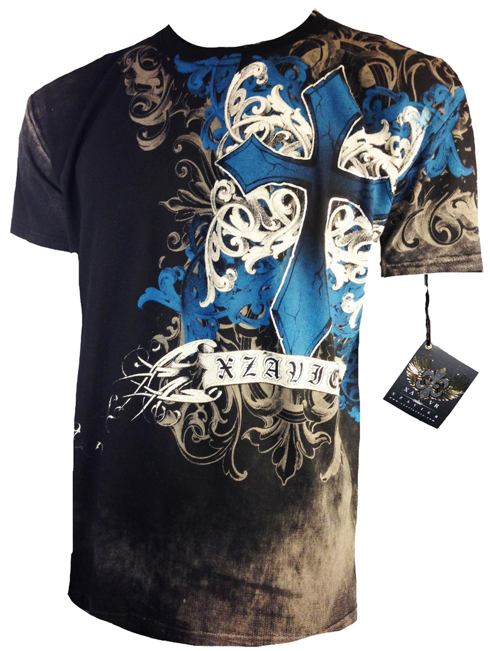 Xzavier - Fearless Cyanic T-Shirt Front
