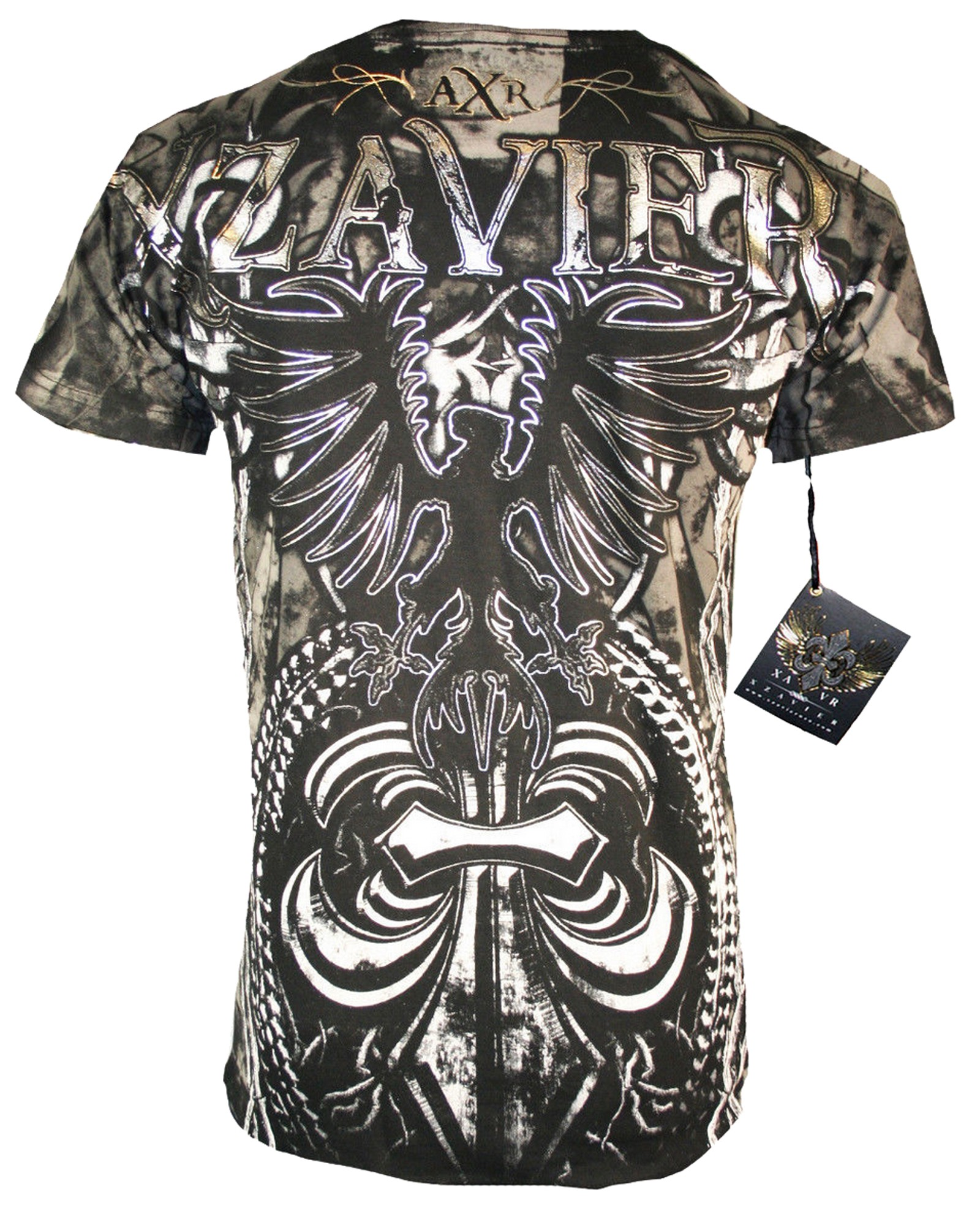 Xzavier - Fenix Thorns T-Shirt Back