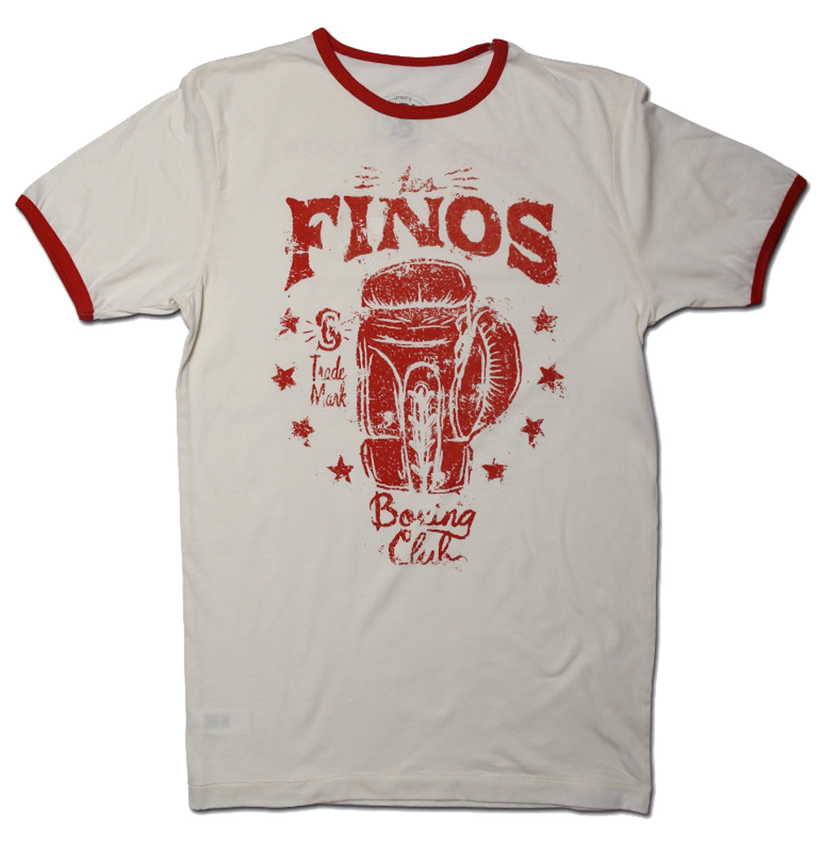 Supercobra Clothing Company - Los Finos Ringer T-Shirt Front