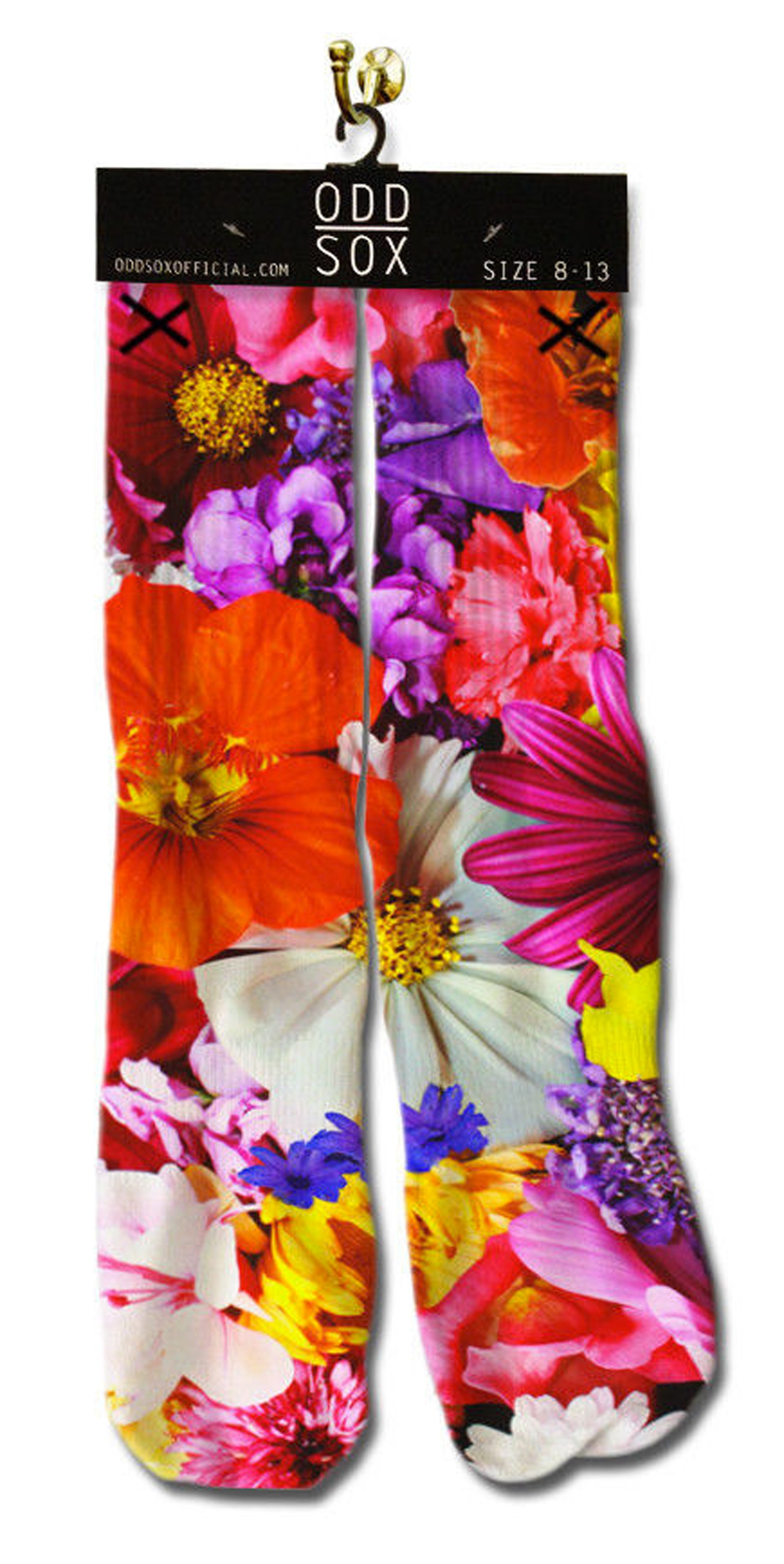 ODD Sox - Flower Bouquet Socken Front