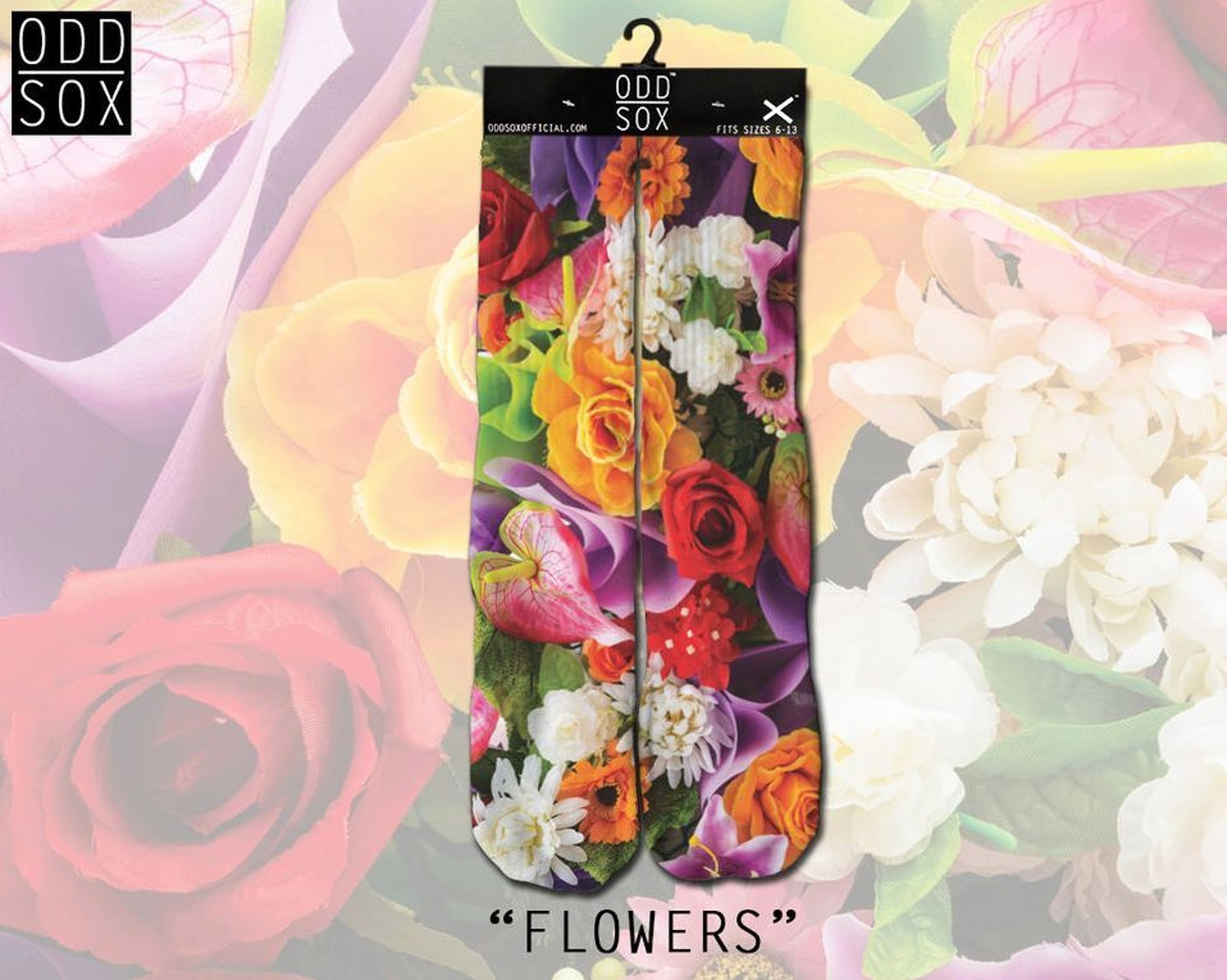 ODD Sox - Flowers Socken