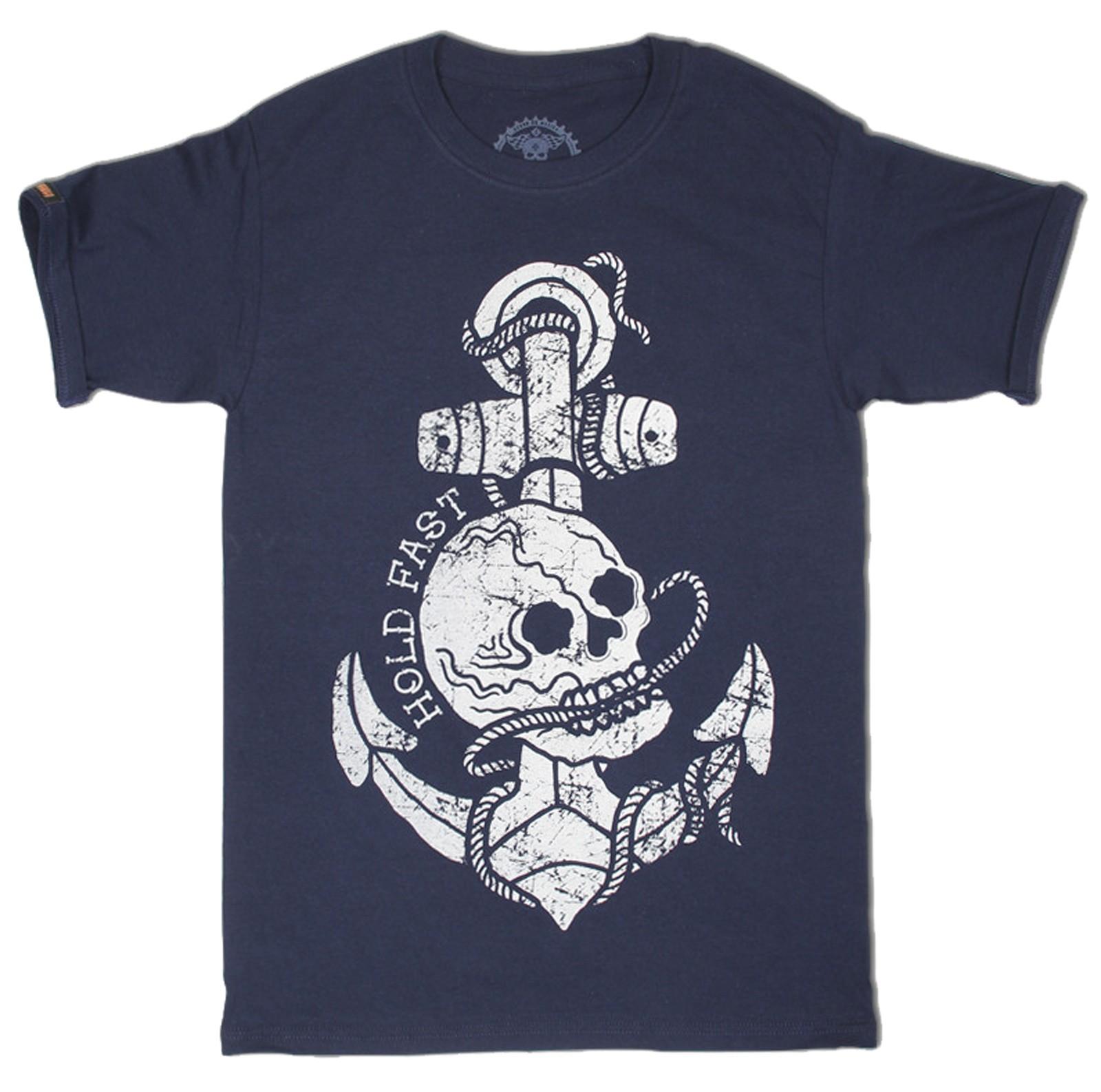 La Marca Del Diablo - Hold Fast Skull T-Shirt Front