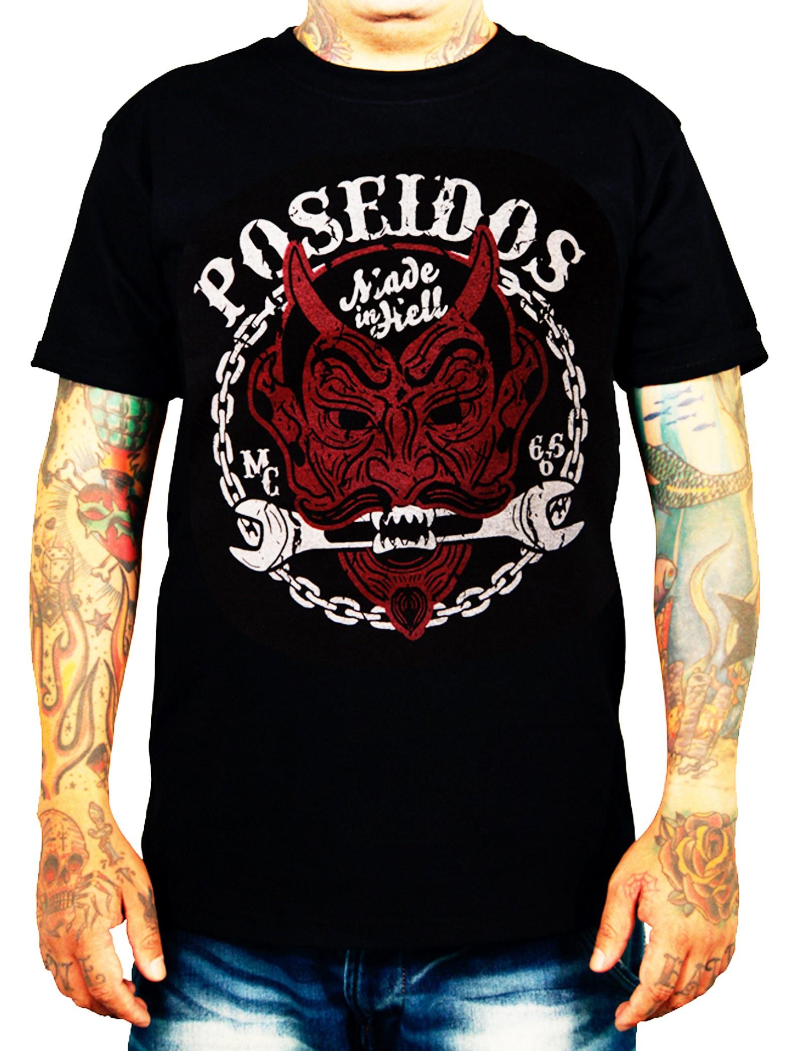 La Marca Del Diablo - Poseidos T-Shirt Front