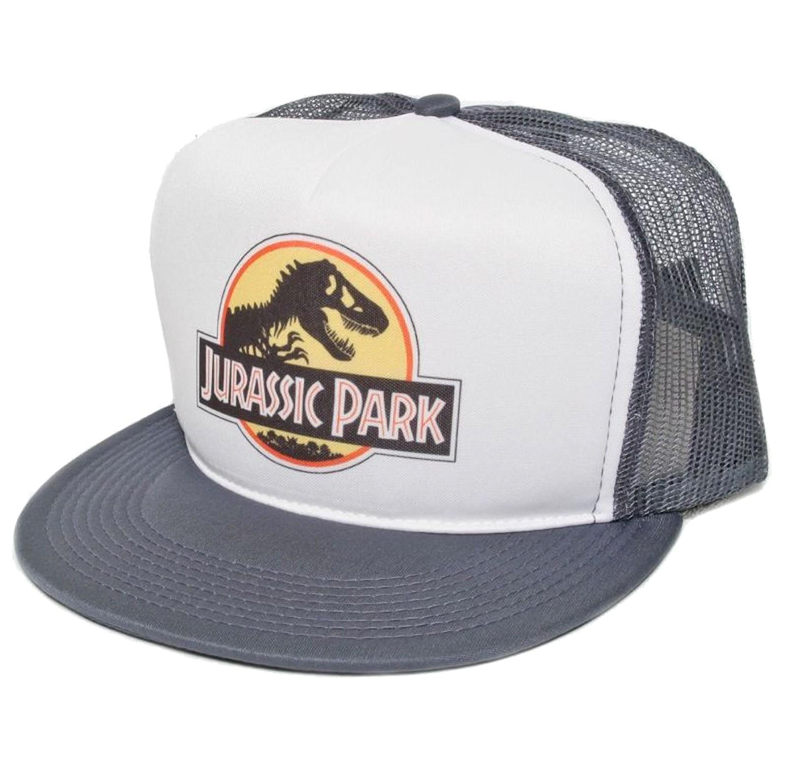 Retro Cap -  Jurassic Park Movie Cap Front