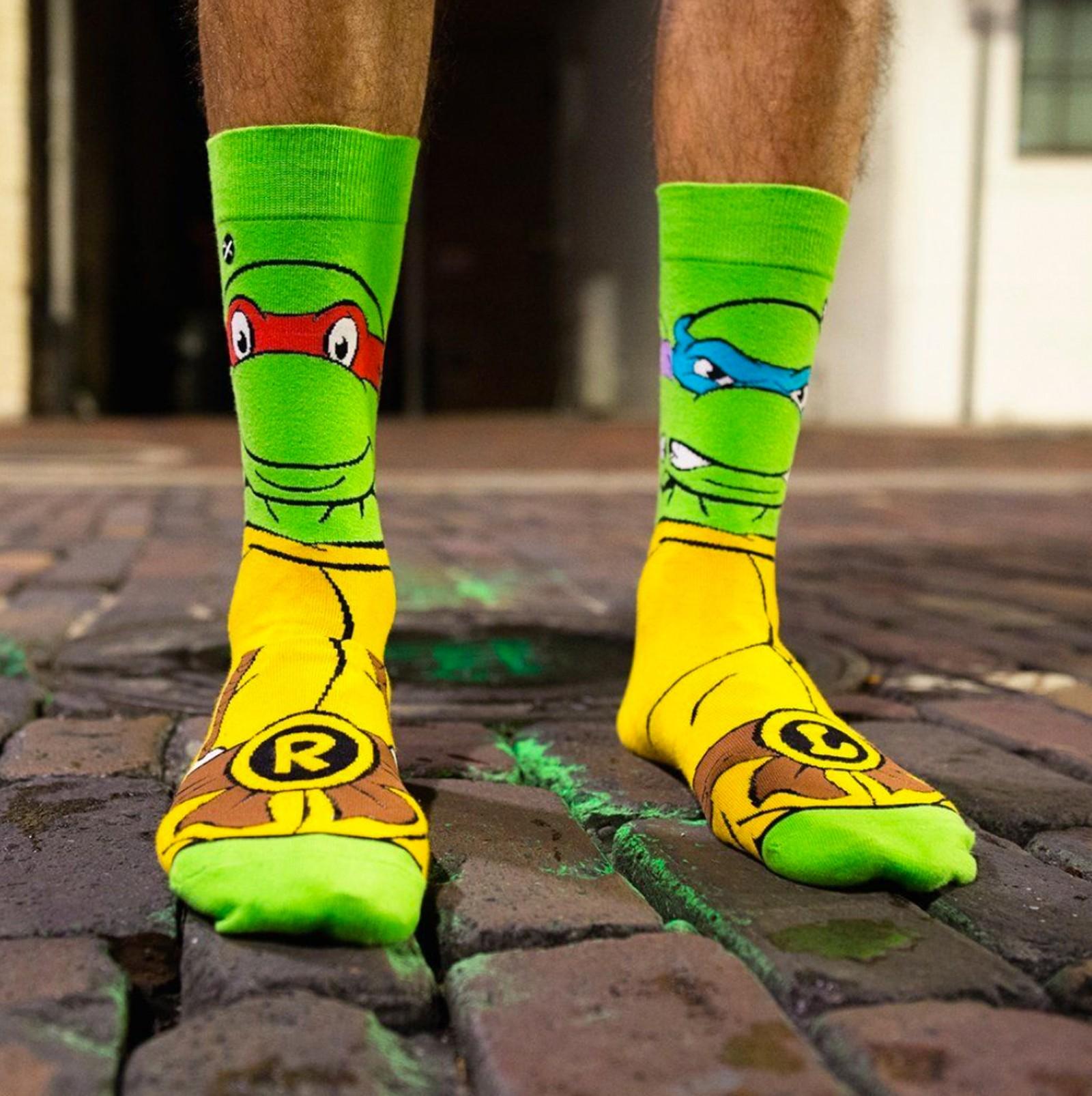 ODD Sox - Hero Turtles Knits Socken
