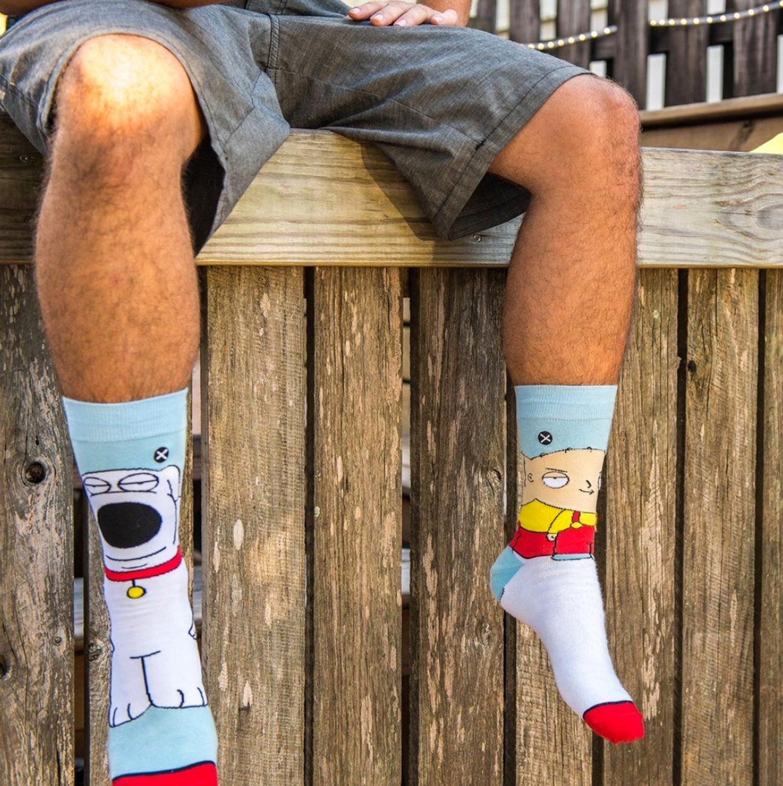ODD Sox - Family Guy Stewie & Brian Knits Socken