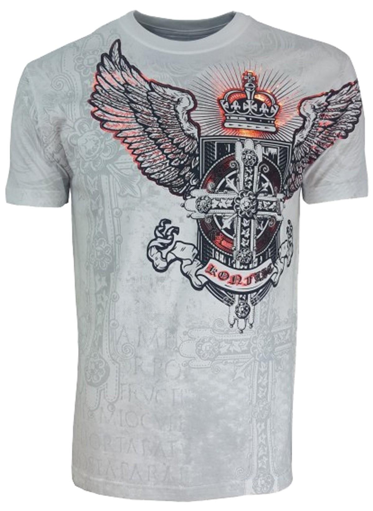 Konflic Clothing - Burning Wings T-Shirt