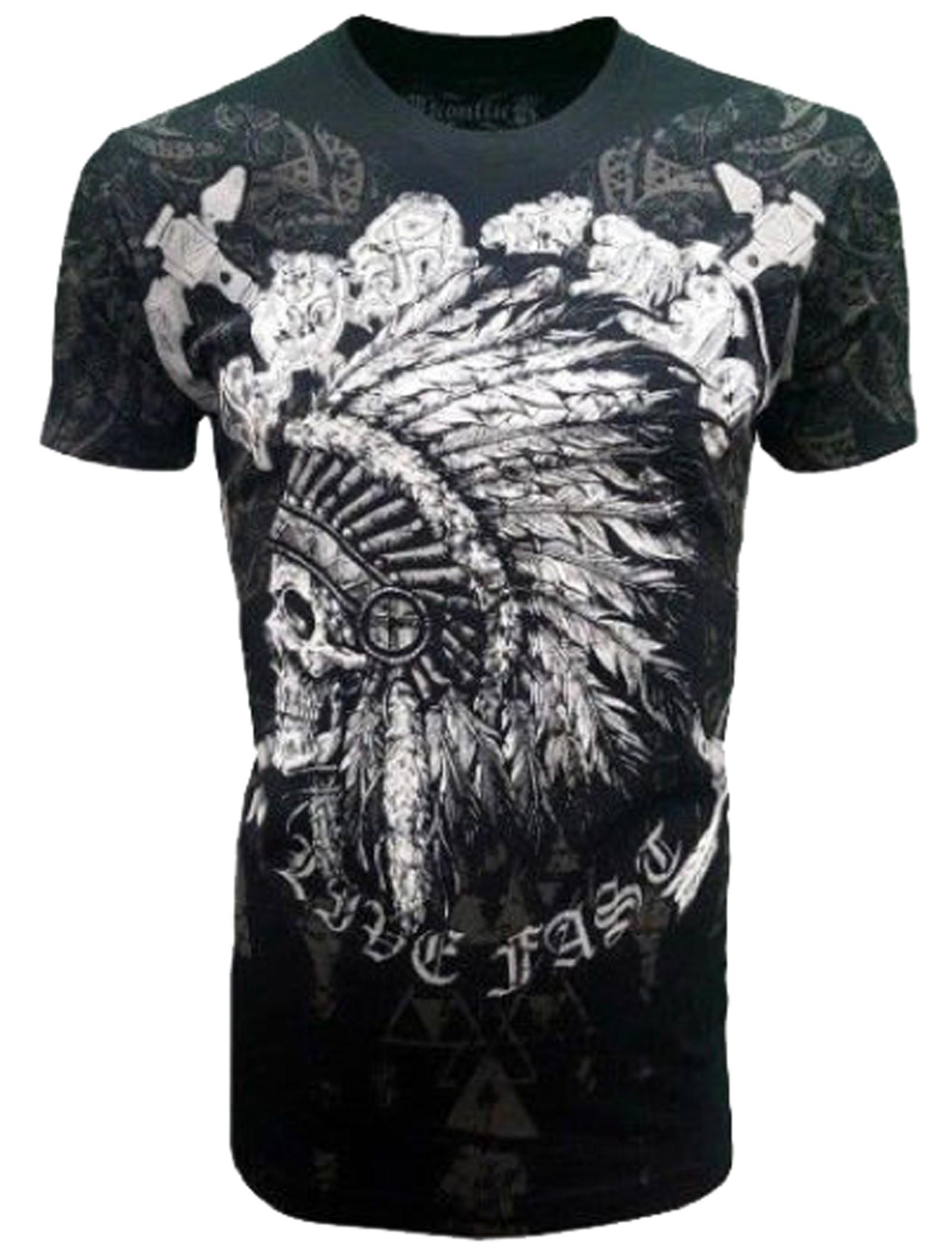 Konflic Clothing - Chief Skull T-Shirt