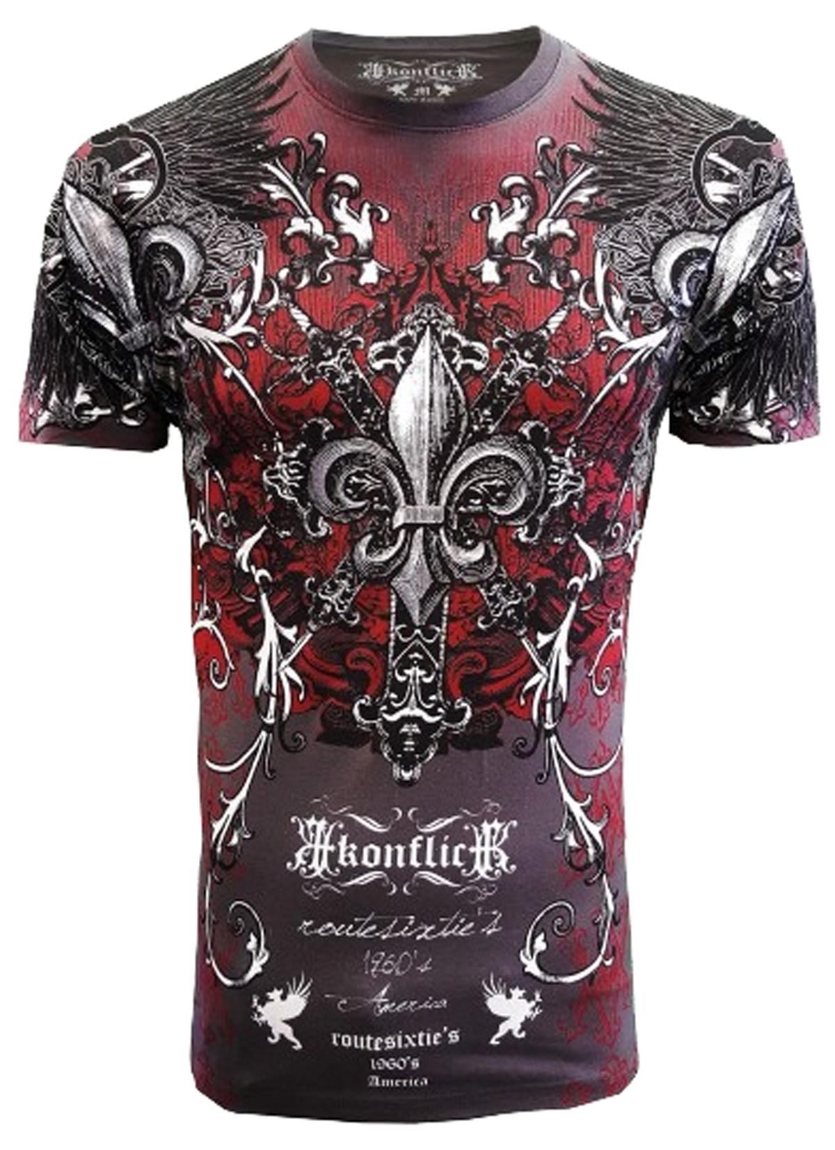 Konflic Clothing - Crosses Forever T-Shirt