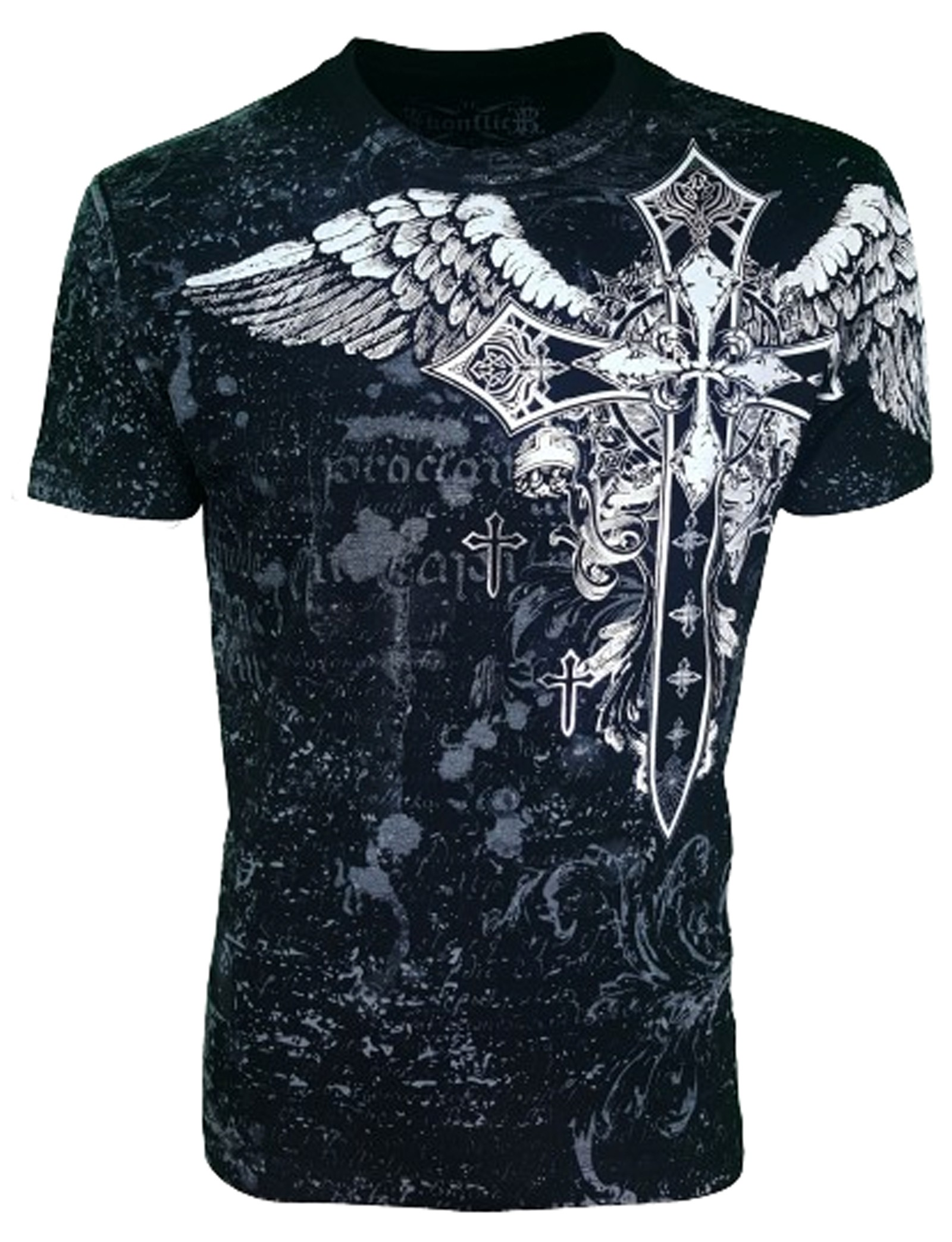Konflic Clothing - Cross Shield T-Shirt