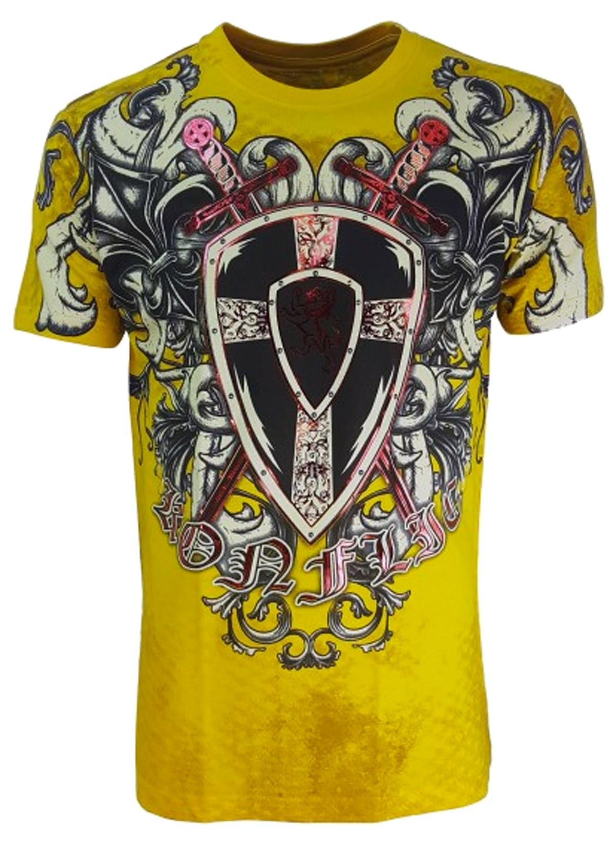 Konflic Clothing - Battle Crest T-Shirt