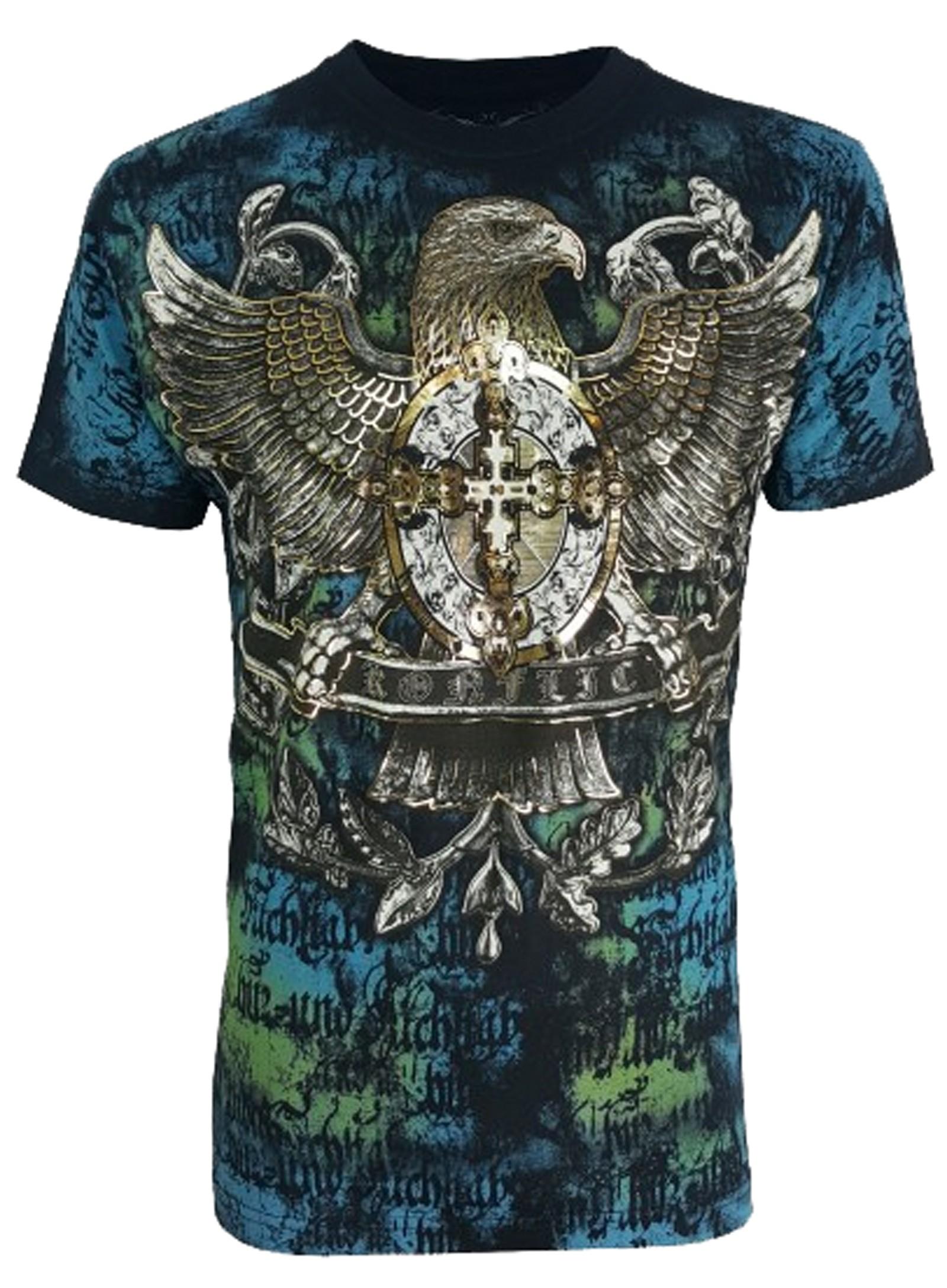 Konflic Clothing - Eagle Crest T-Shirt