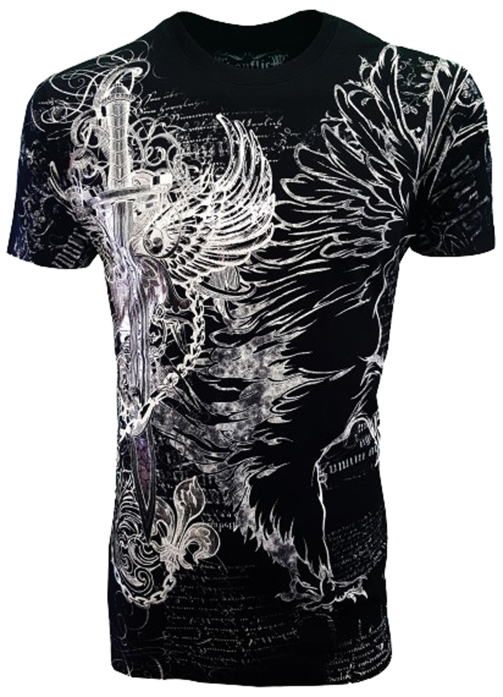 Konflic Clothing - Live and Die by the Sword T-Shirt