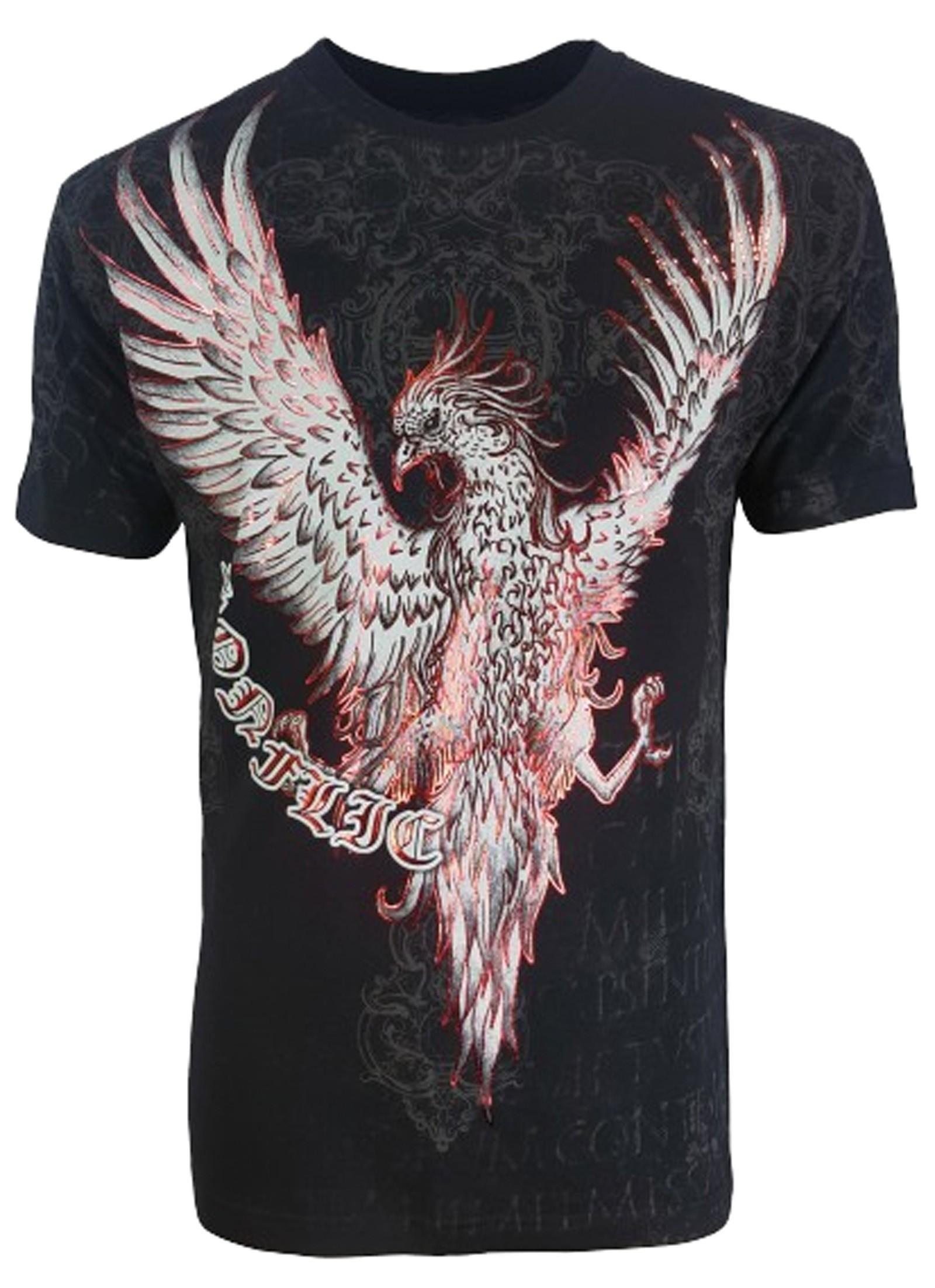 Konflic Clothing - Red Phoenix T-Shirt