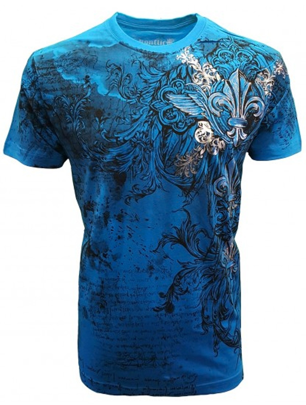 Konflic Clothing - Royal Fleur De Lis T-Shirt