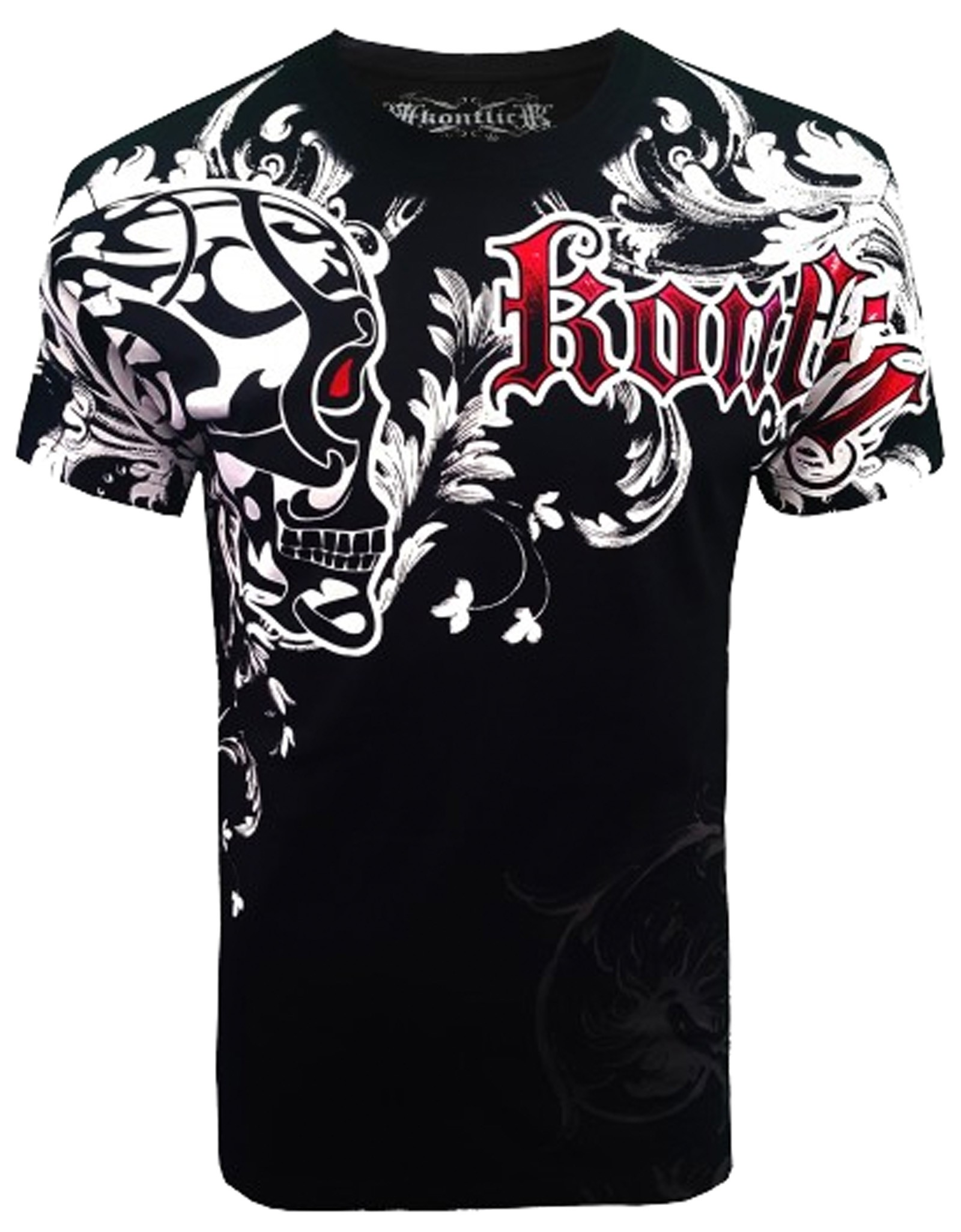 Konflic Clothing - Skull Shied T-Shirt