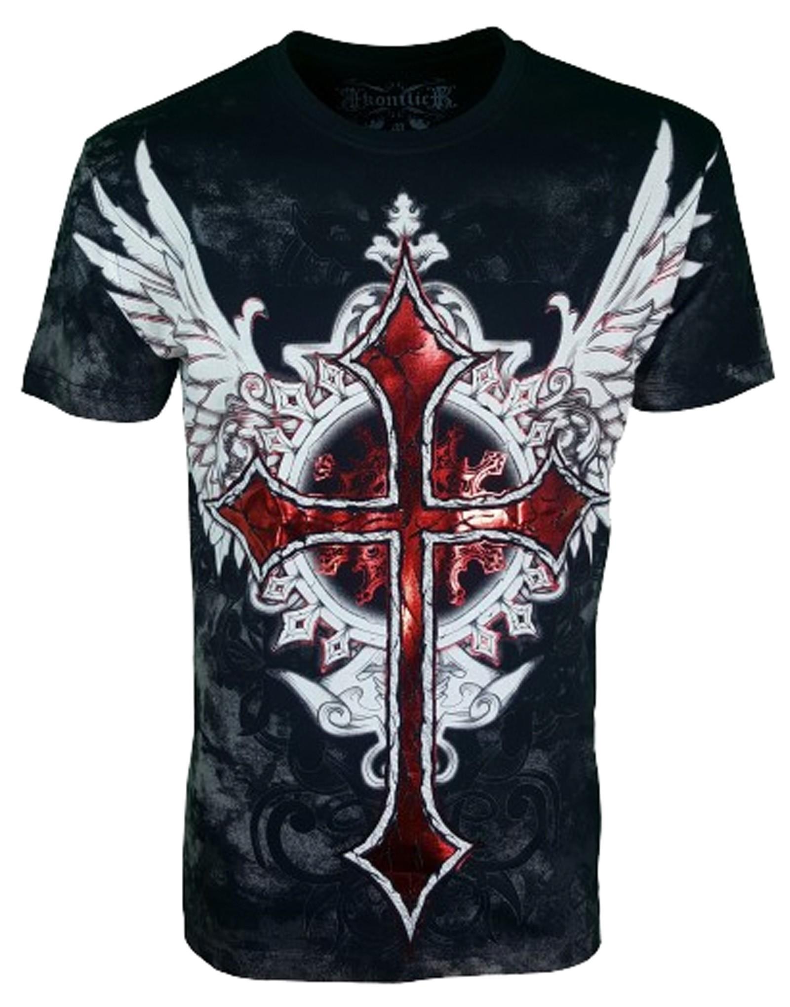 Konflic Clothing - Winged Cross T-Shirt