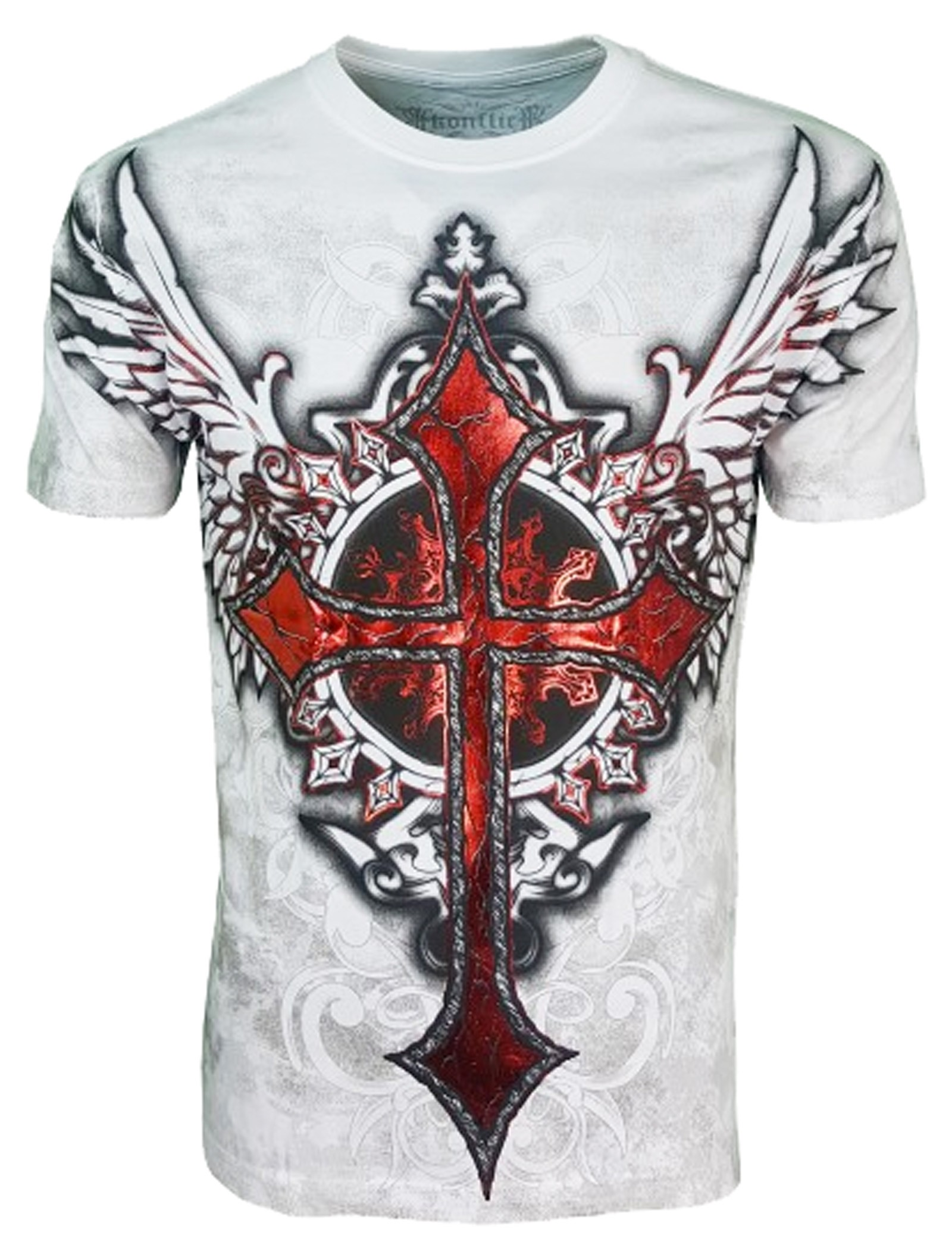 Konflic Clothing - Winged Cross T-Shirt