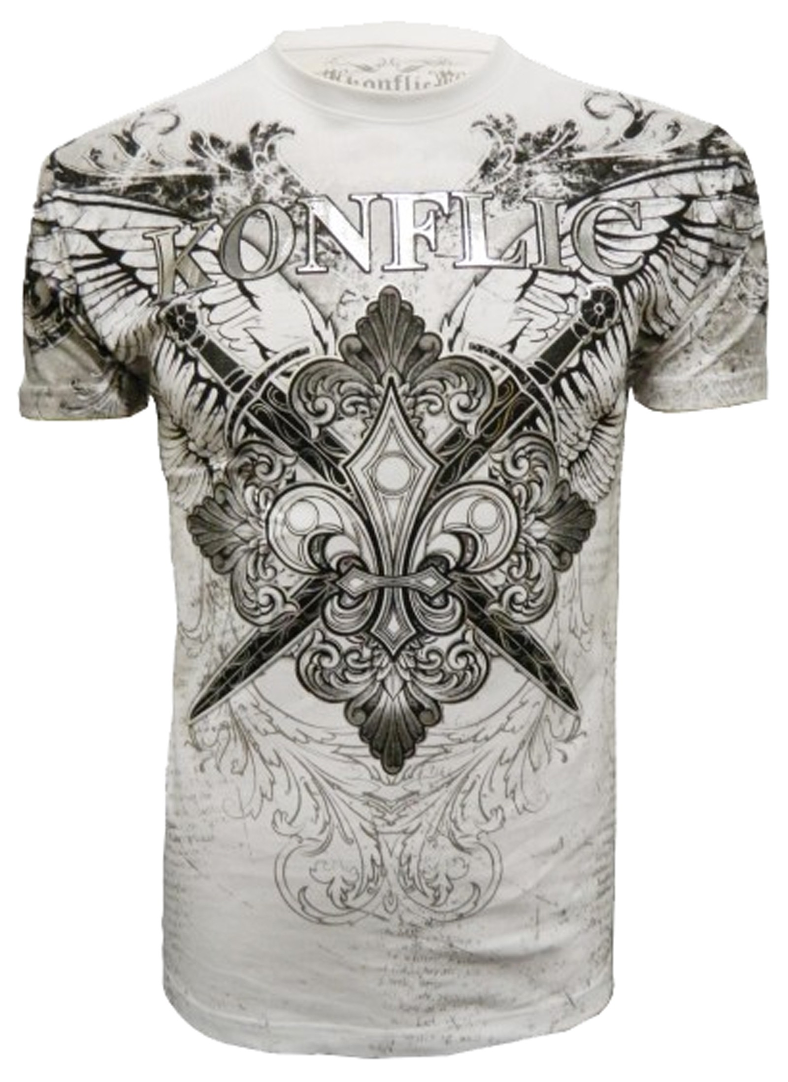 Konflic Clothing - Winged Motif T-Shirt