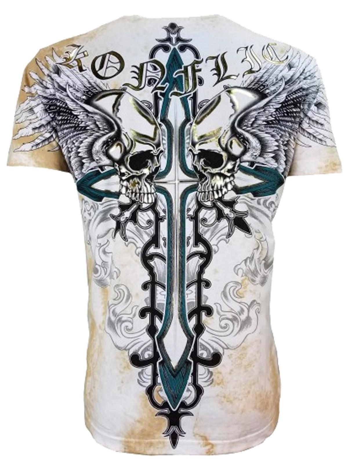 Konflic Clothing - Winged Skulls T-Shirt