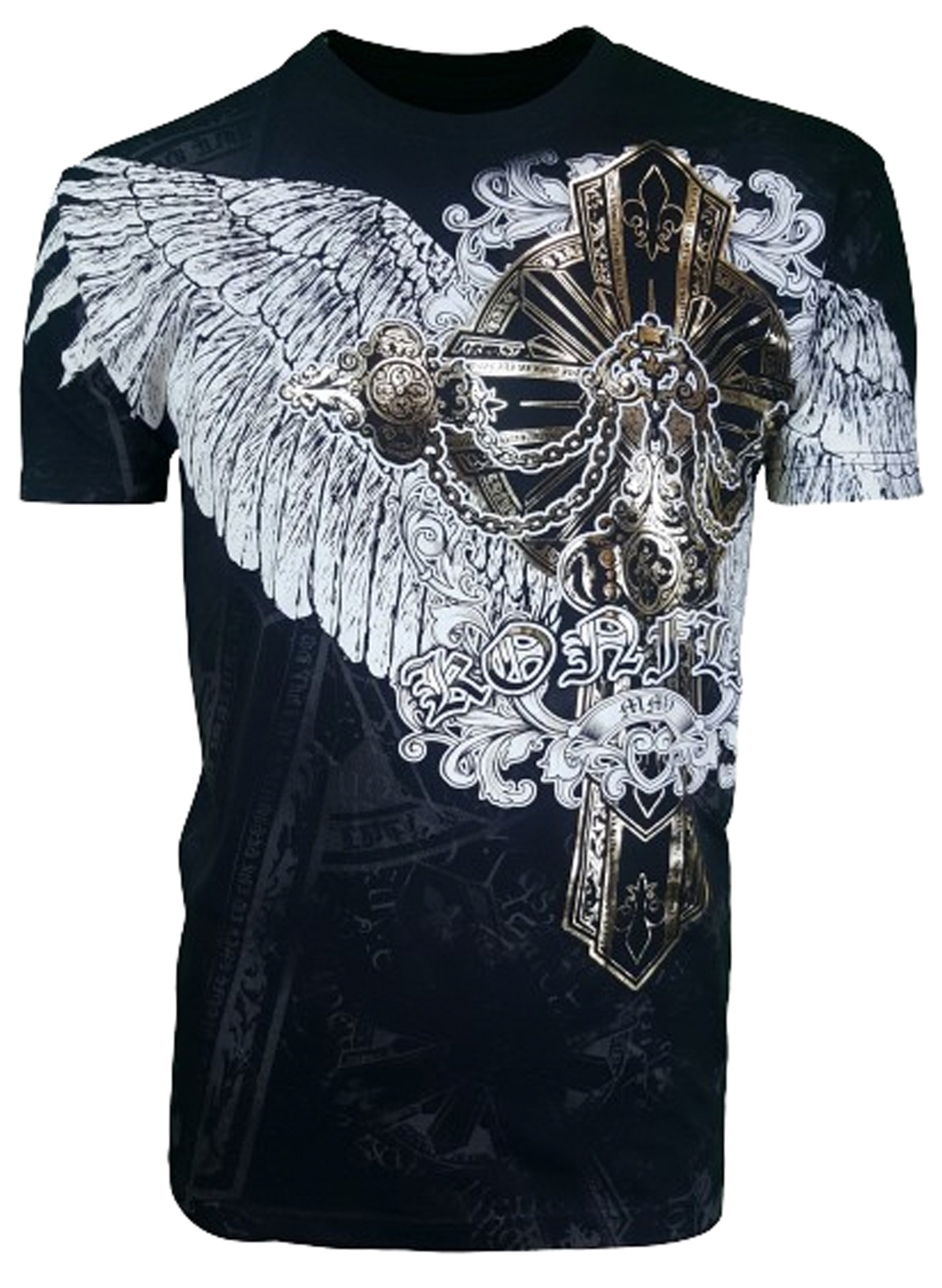 Konflic Clothing - Wings of Faith T-Shirt