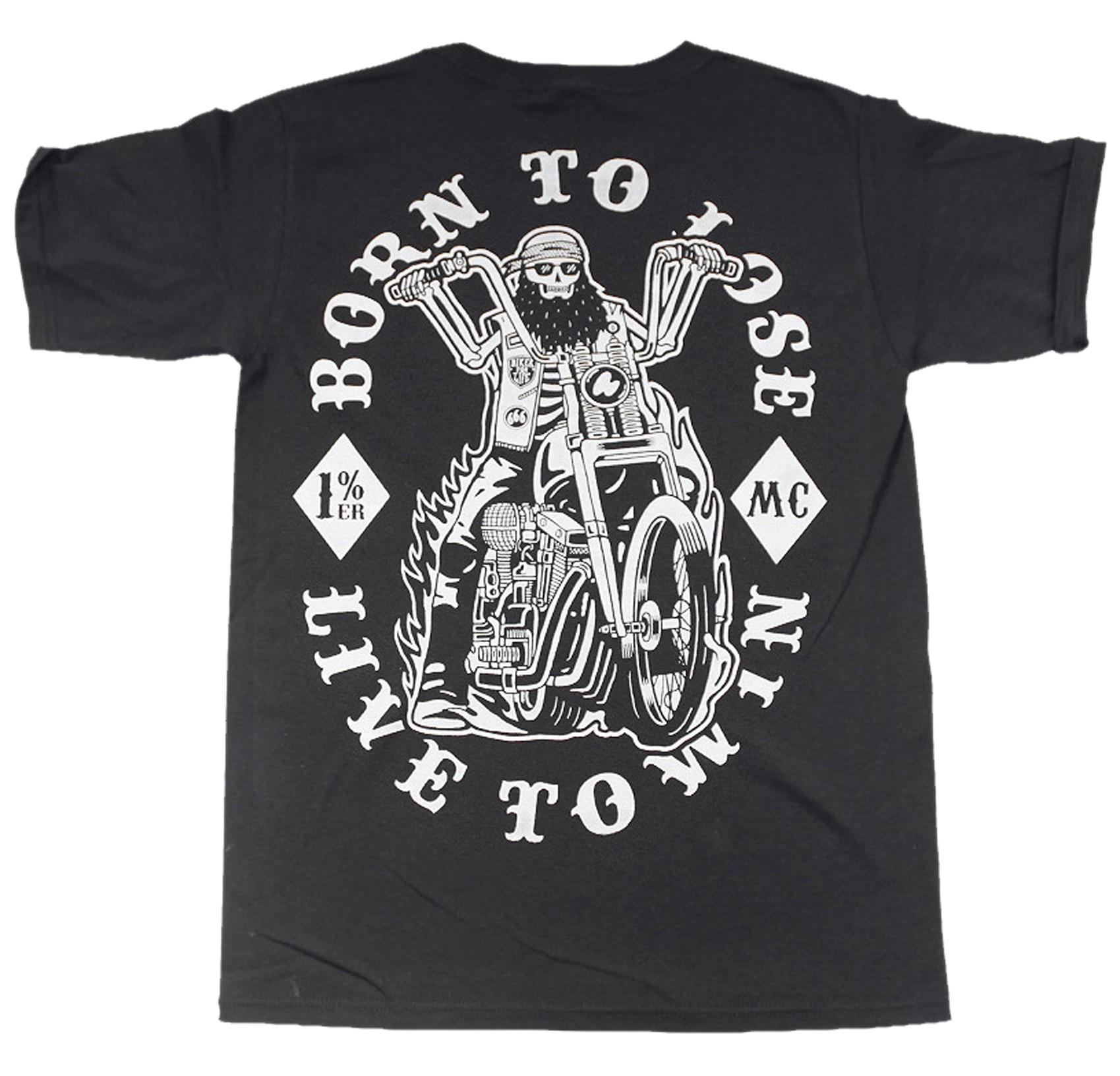 La Marca Del Diablo - Born To Biker T-Shirt