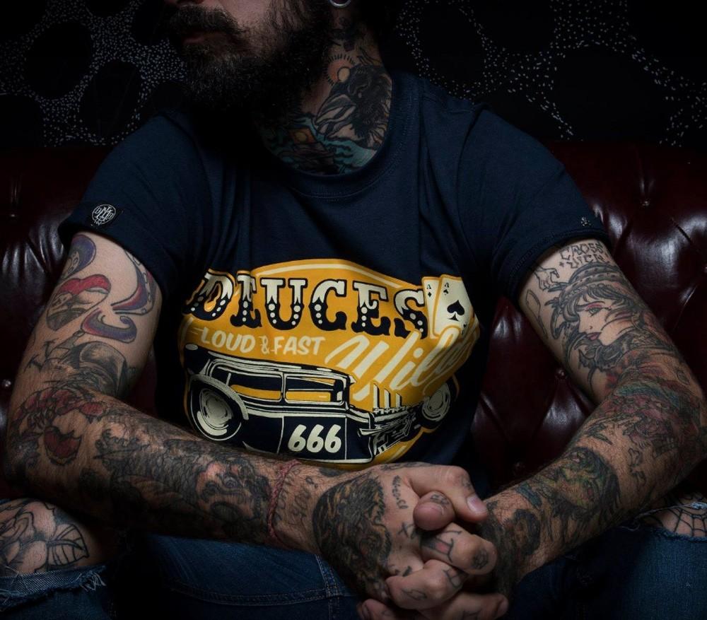 La Marca Del Diablo - Deuces Wild T-Shirt