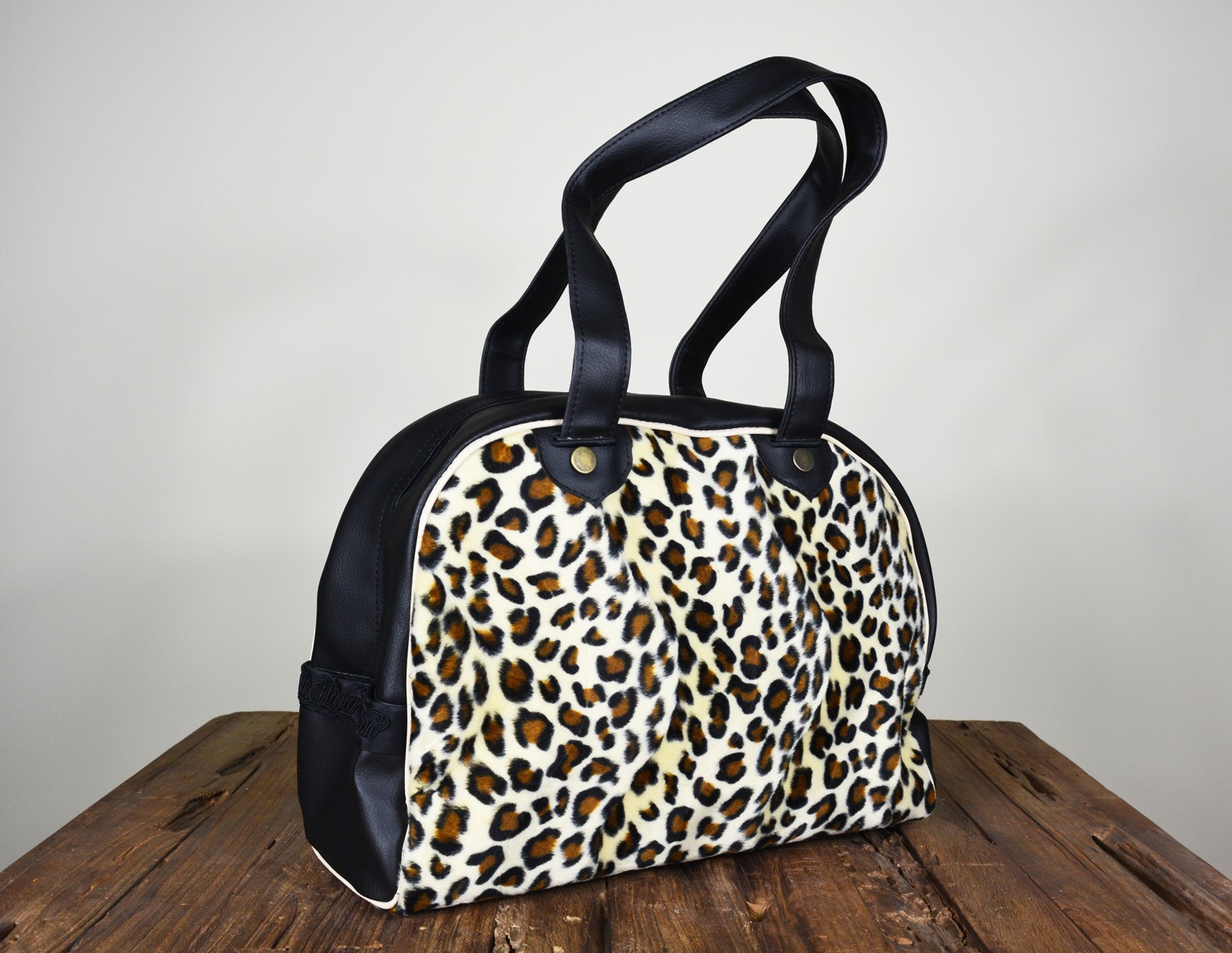 La Marca Del Diablo - Leopard Bowling Bag