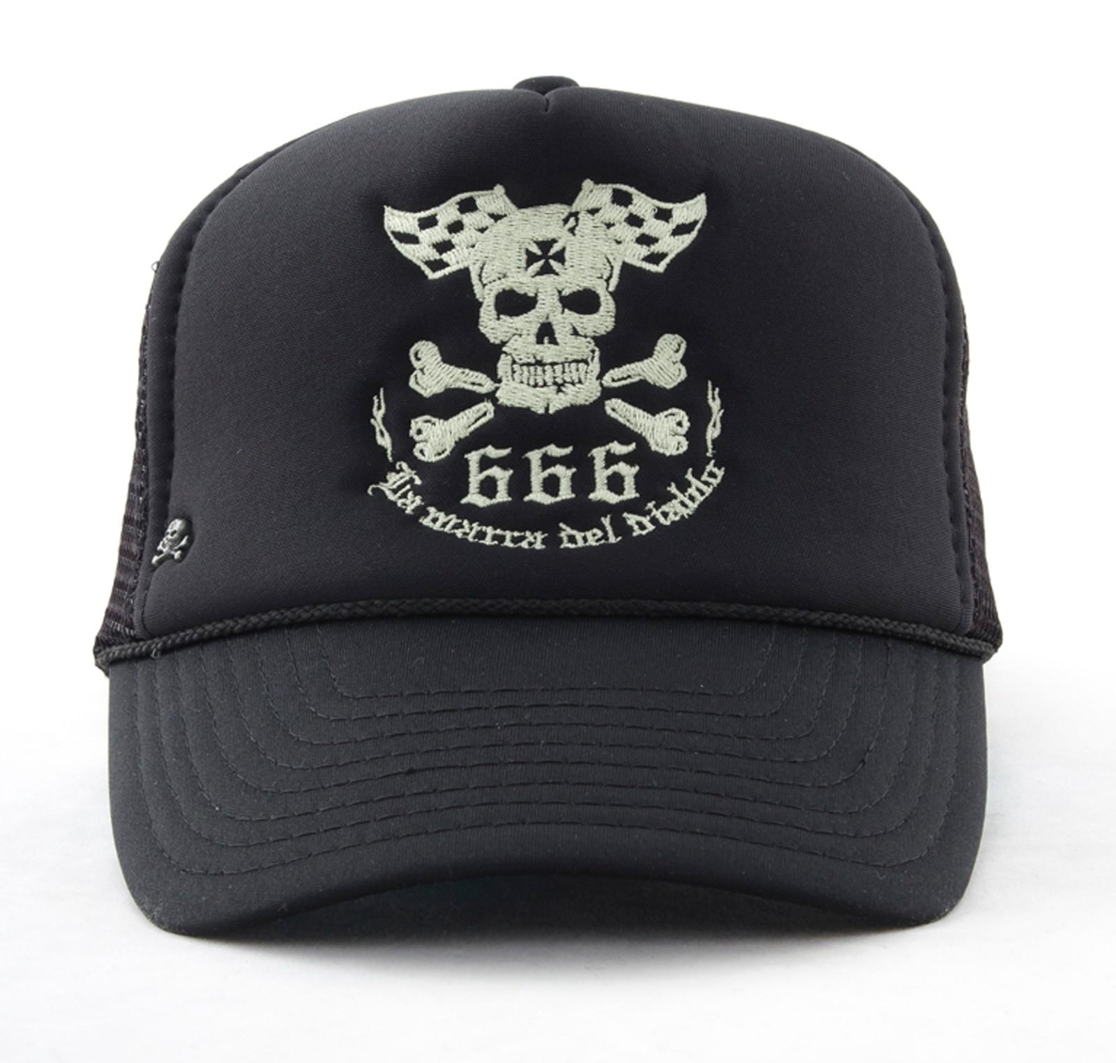 La Marca Del Diablo - Logo Skull Trucker Cap