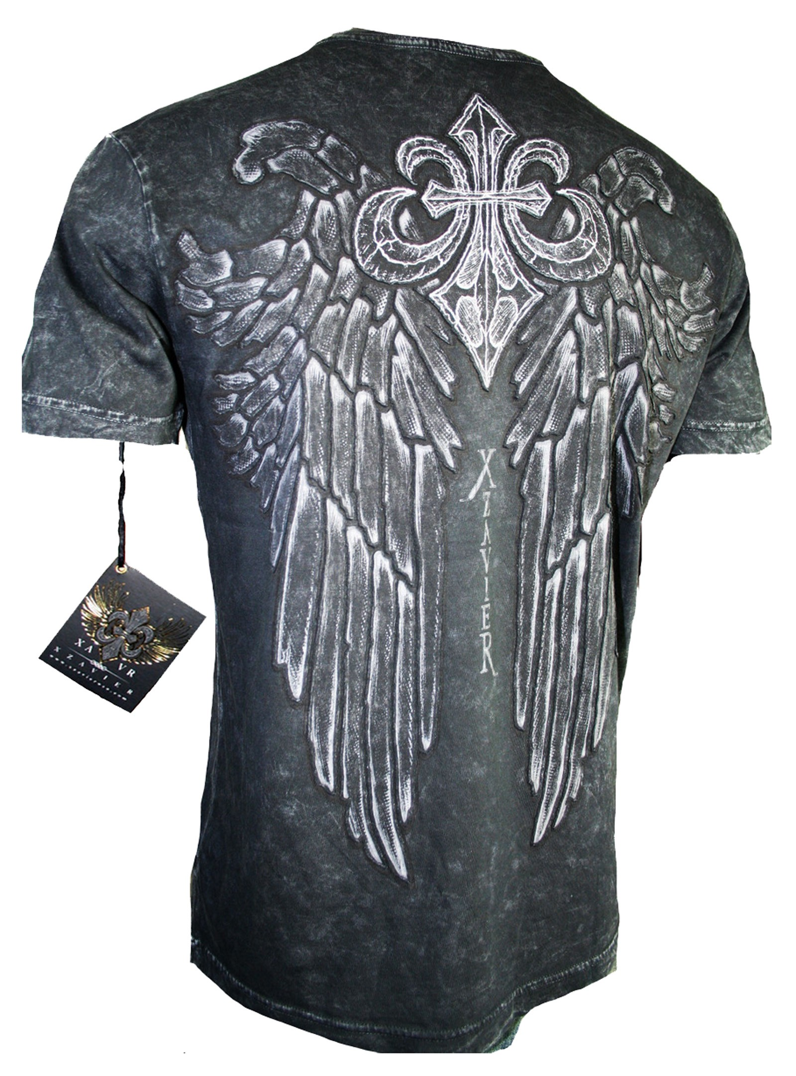 Xzavier - LIMITED Wings T-Shirt Back