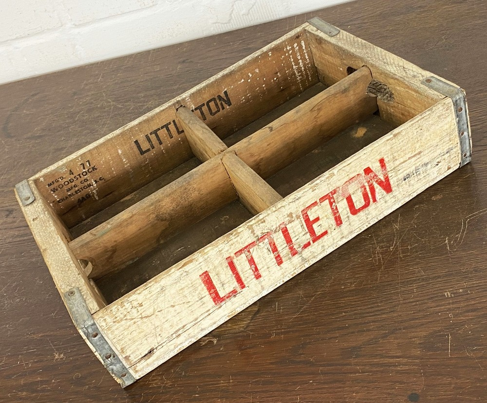 Original Soda Crate - Littleton Getränkekiste
