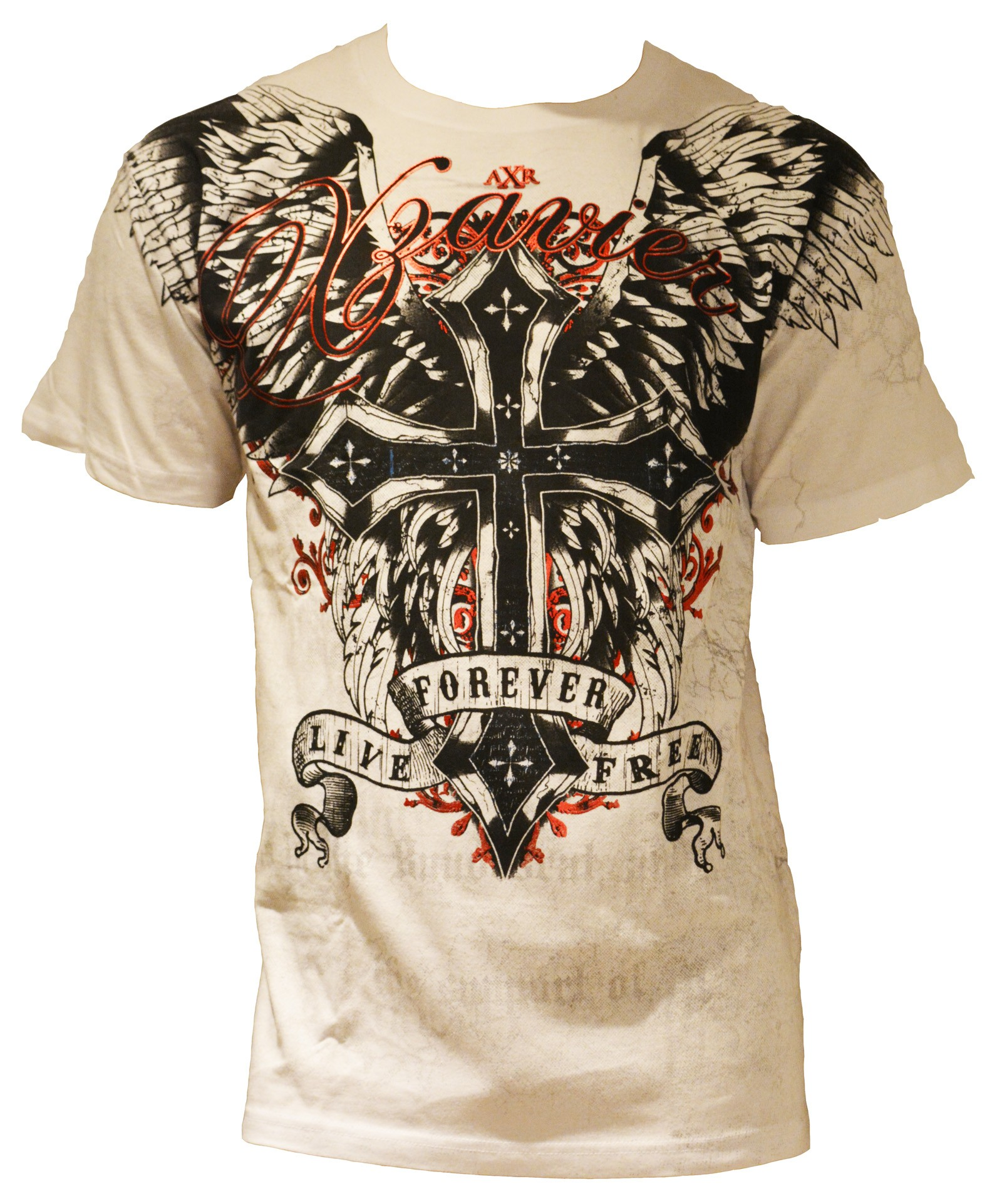 Xzavier - Live Free Forever T-Shirt Front